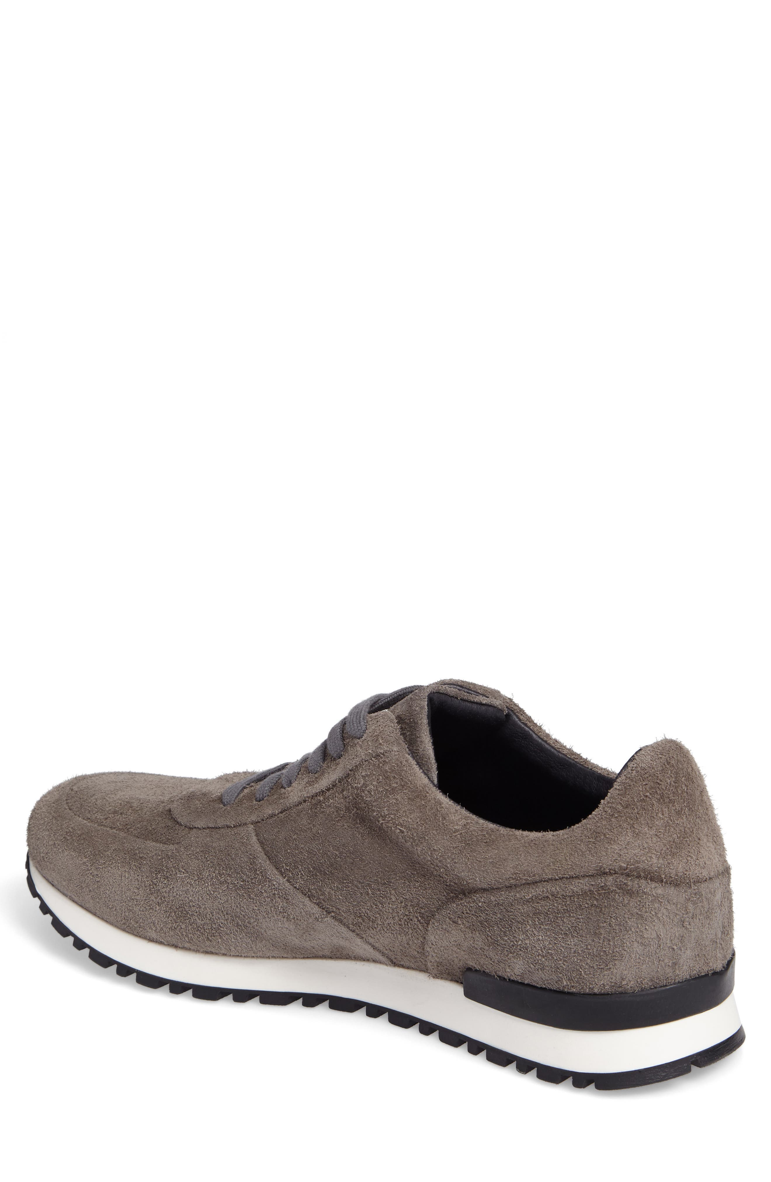 Hairy Sneaker,                             Alternate thumbnail 2, color,                             Grey Suede