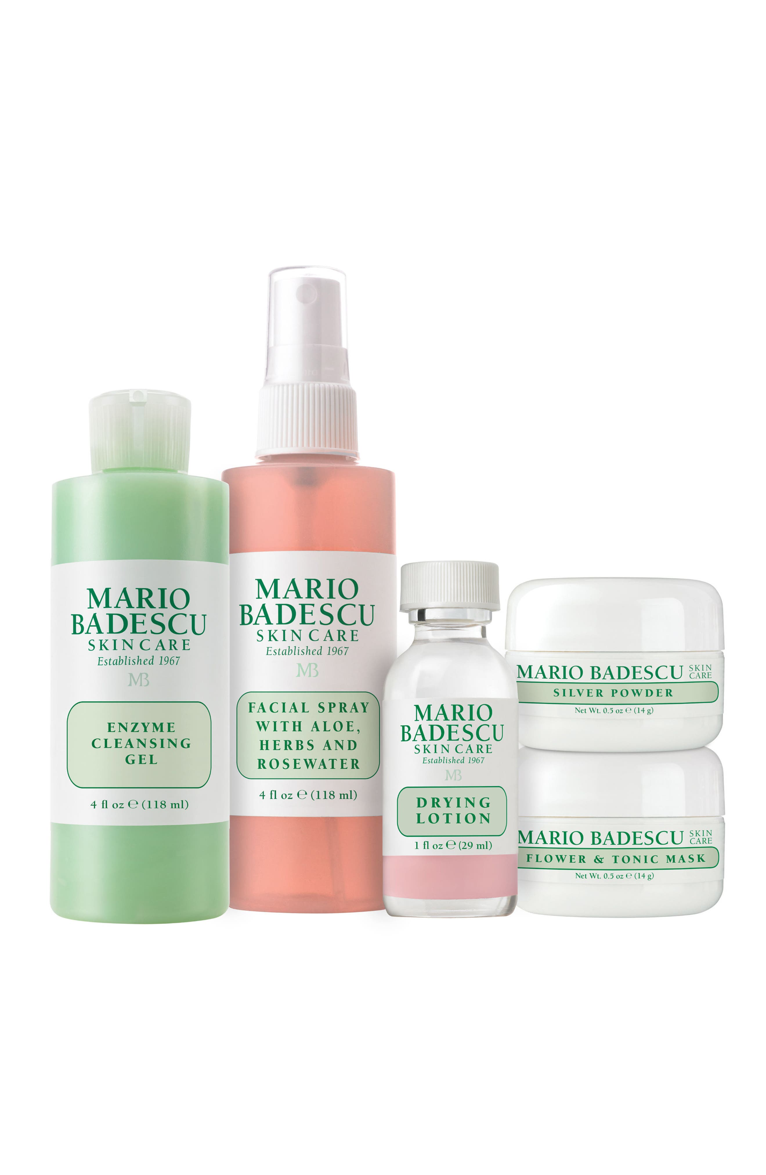 Mario Badescu 50th Anniversary Essentials Kit (Limited Edition) ($53 Value)