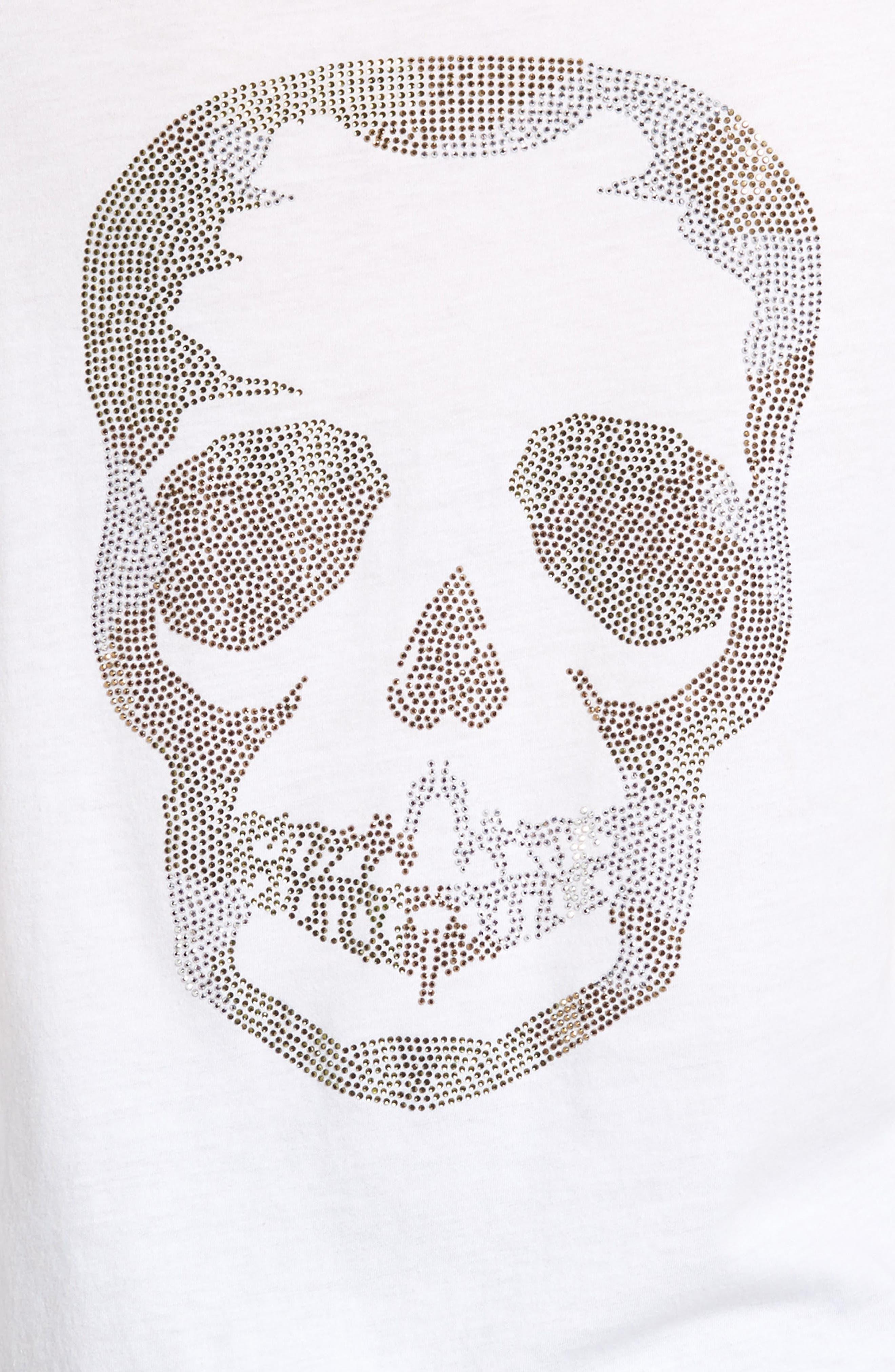 Alternate Image 5  - Zadig & Voltaire Tunisien Strass Skull Henley