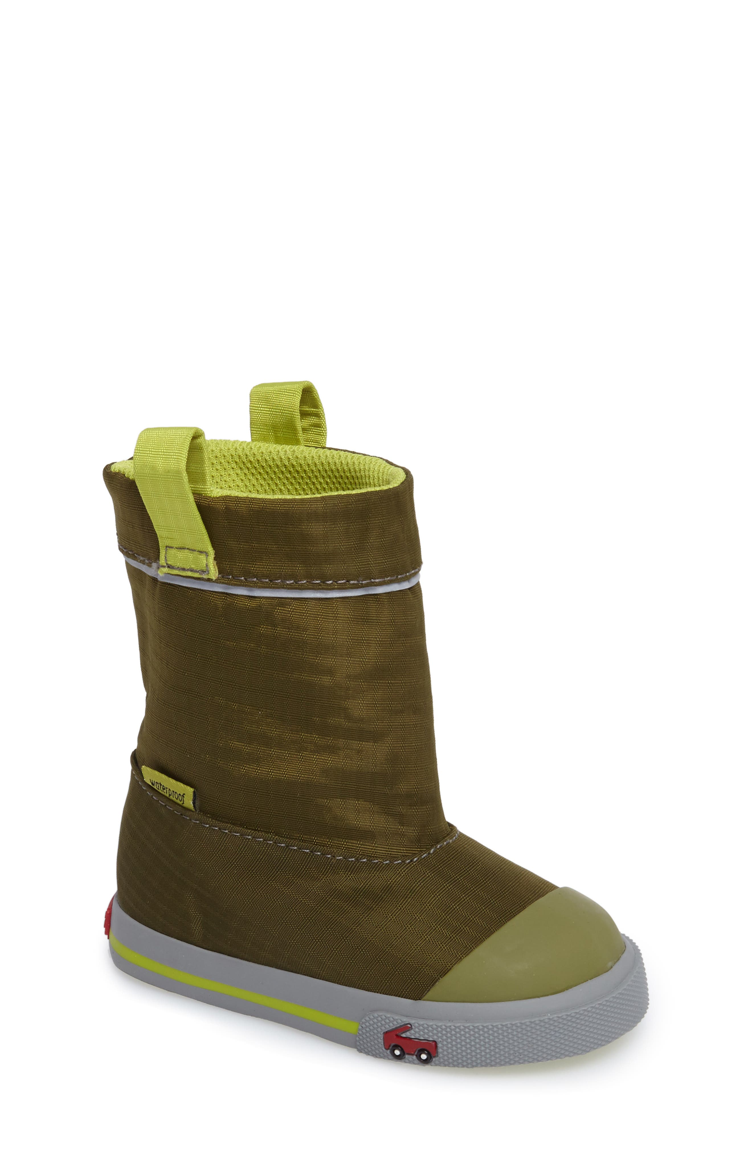 See Kai Run Montlake Waterproof Boot (Baby, Walker & Toddler)