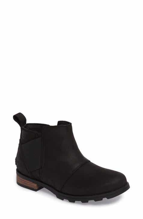 84b6353e24fb SOREL Emelie Waterproof Chelsea Boot (Women)