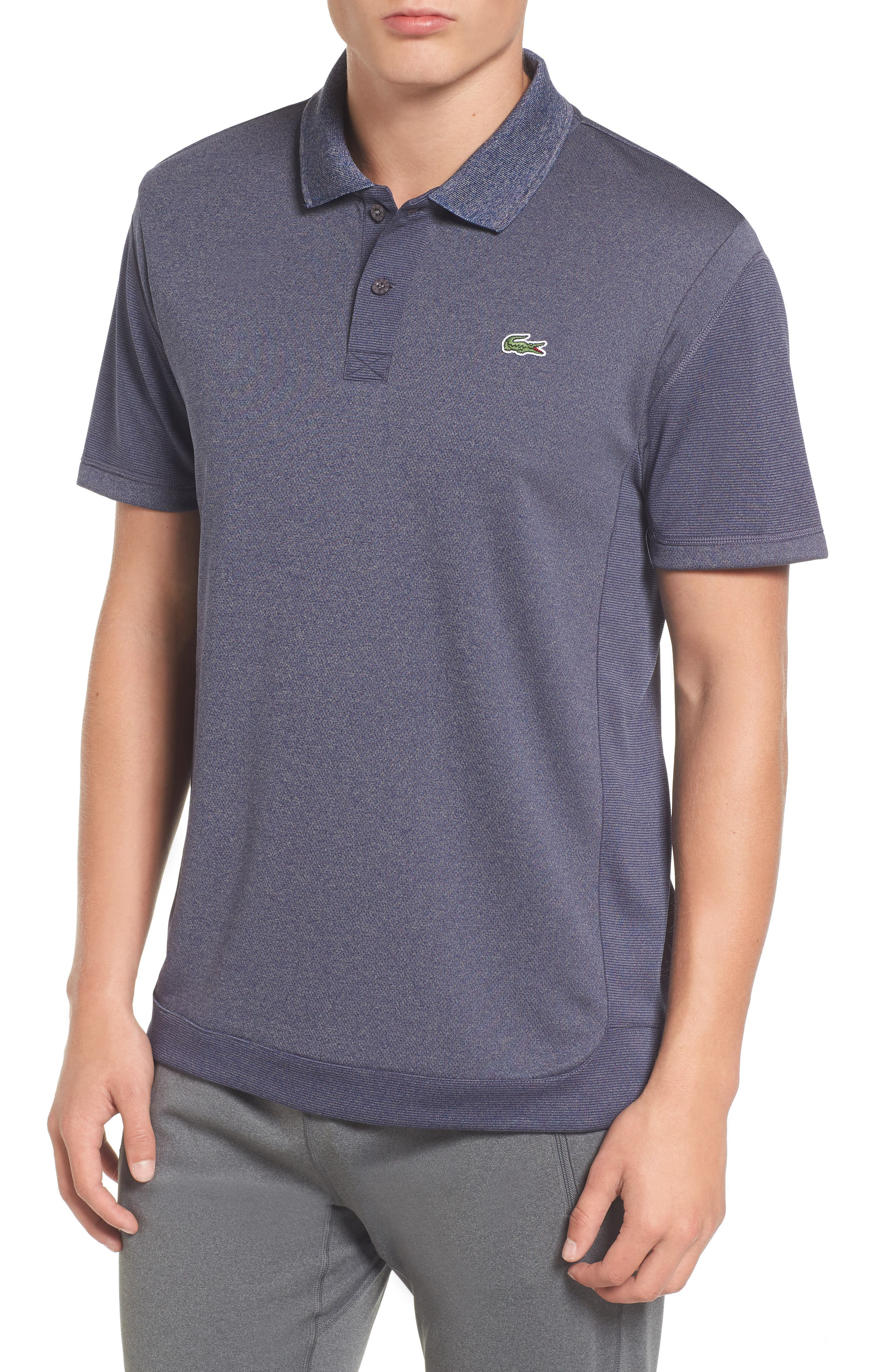 Two-Tone Polo,                         Main,                         color, Pitch/ Ocean