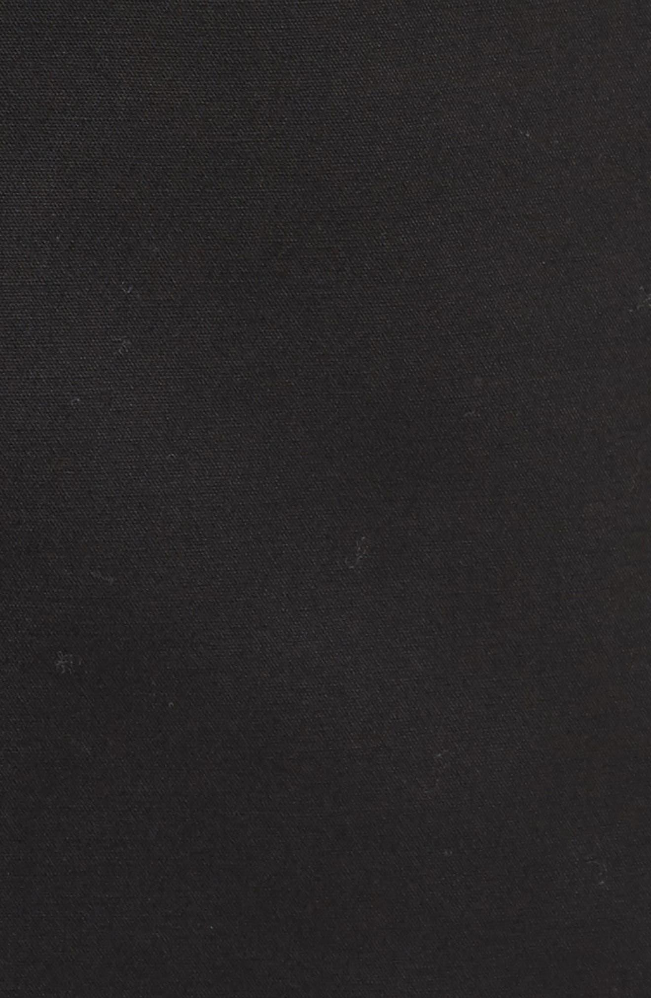 One-Button Blazer,                             Alternate thumbnail 5, color,                             Rich Black
