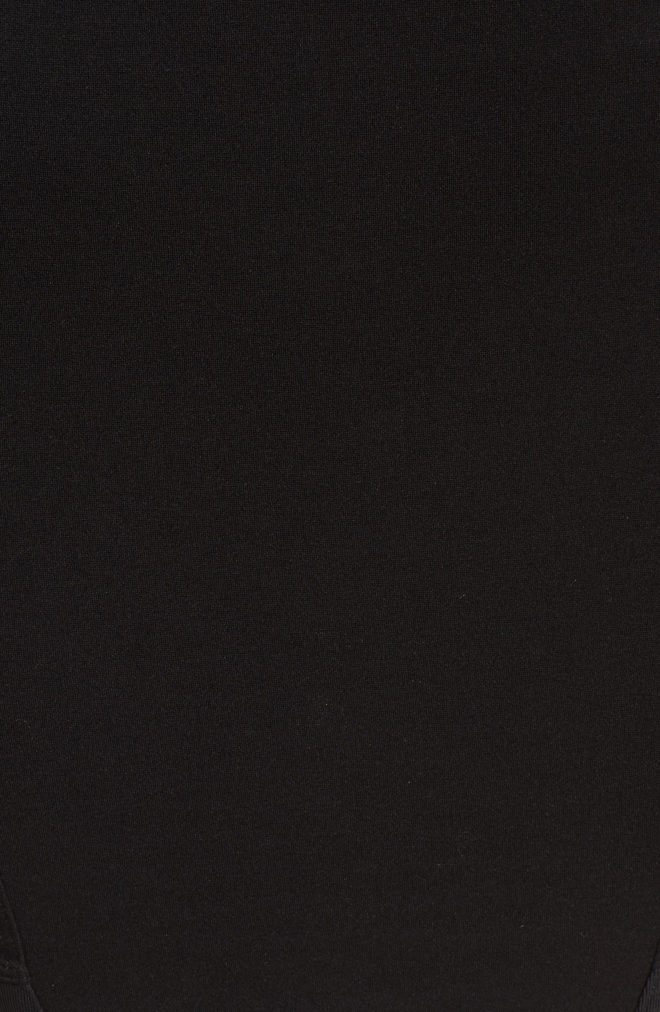 Alternate Image 5  - Leith Ribbed Miniskirt