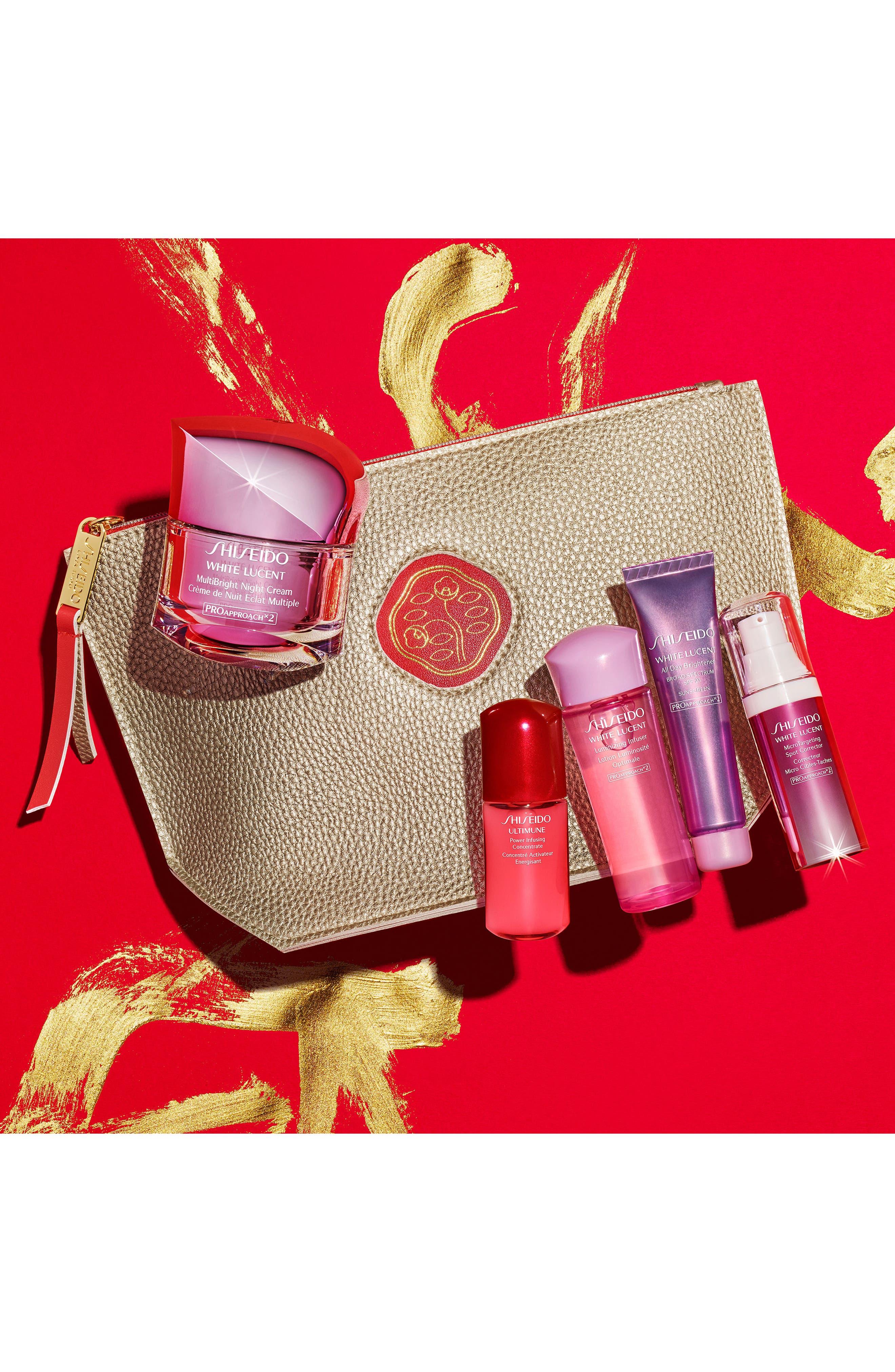 Alternate Image 4  - Shiseido Luminous Night Collection ($178 Value)