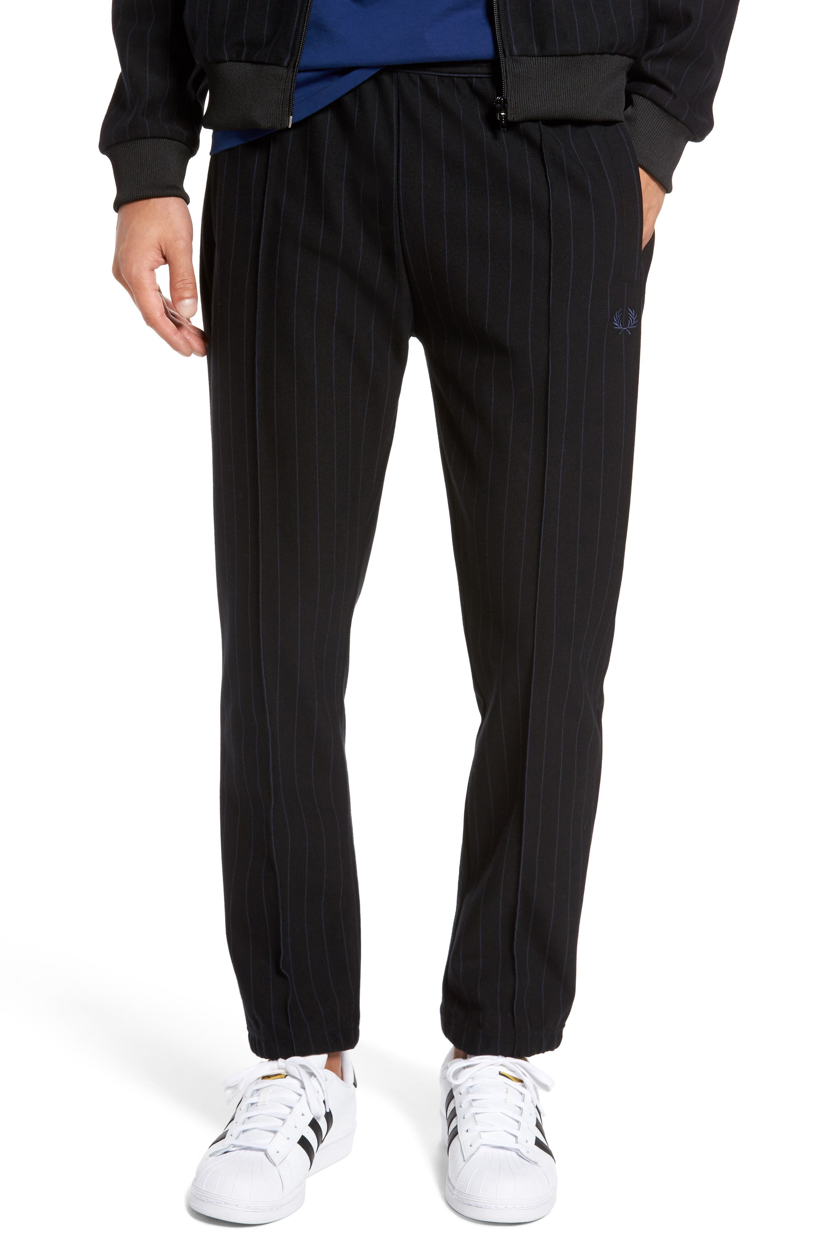 Alternate Image 1 Selected - Fred Perry Pinstripe Jogger Pants