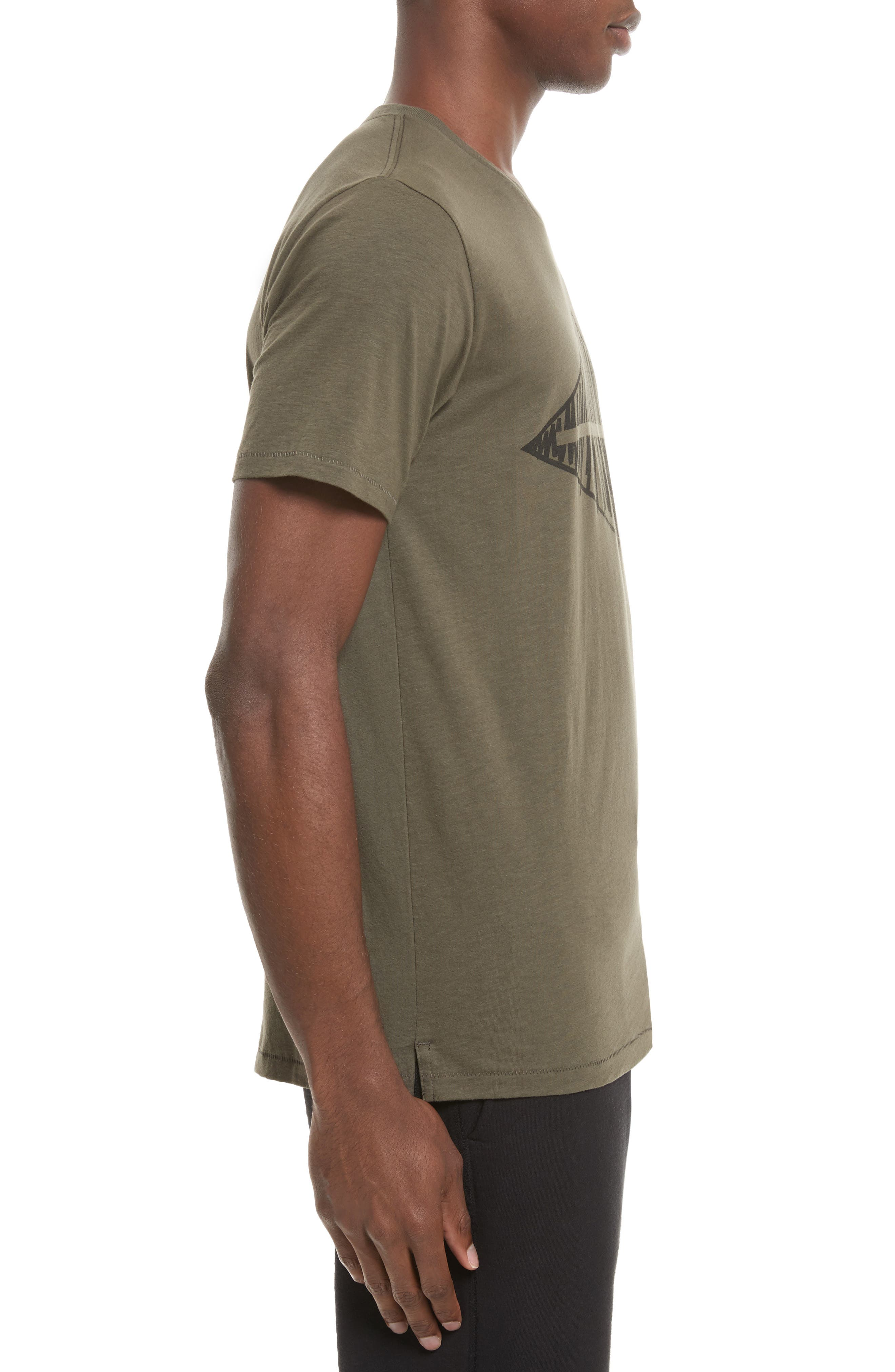 Alternate Image 3  - rag & bone Diamond Graphic T-Shirt