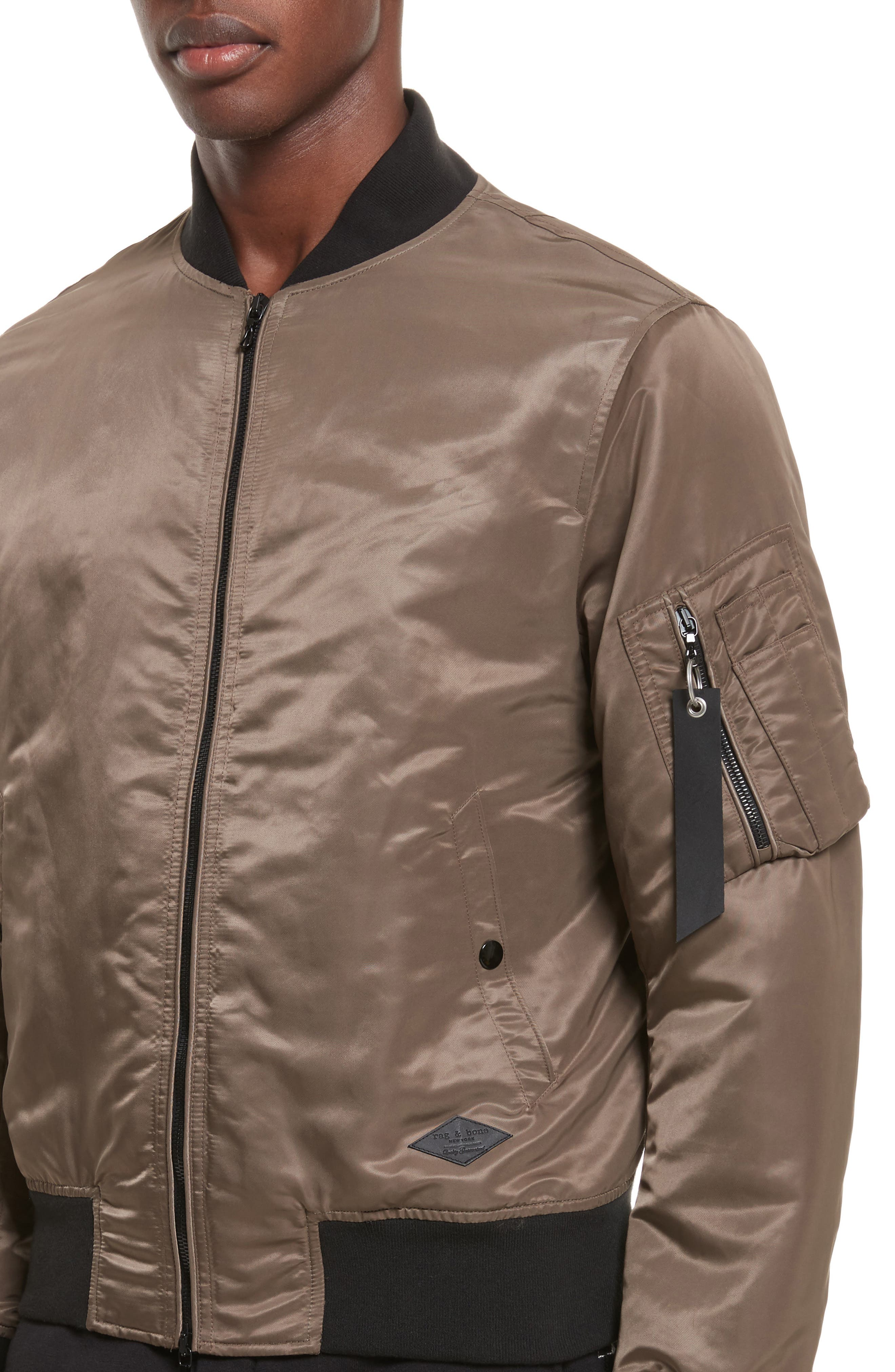Alternate Image 4  - rag & bone Manston Bomber Jacket