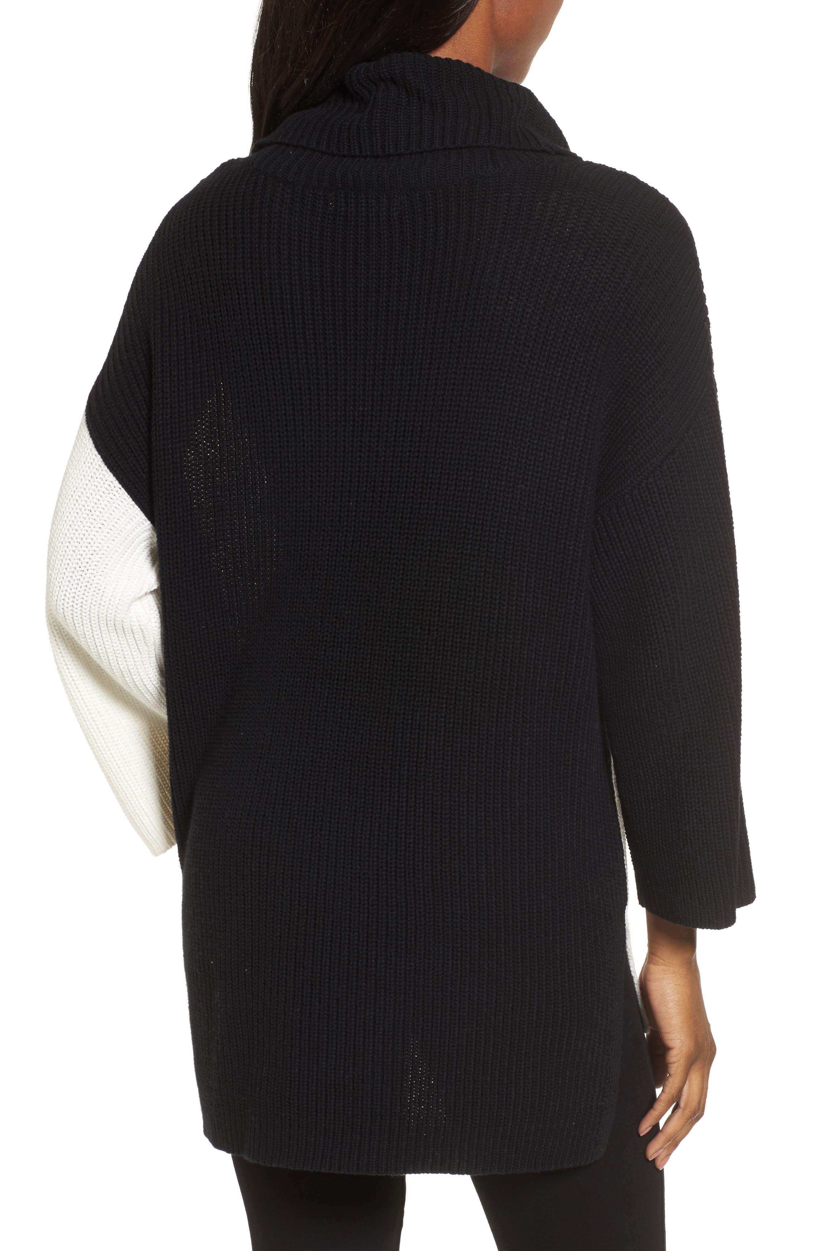 Alternate Image 2  - Chaus Colorblock Cowl Neck Sweater