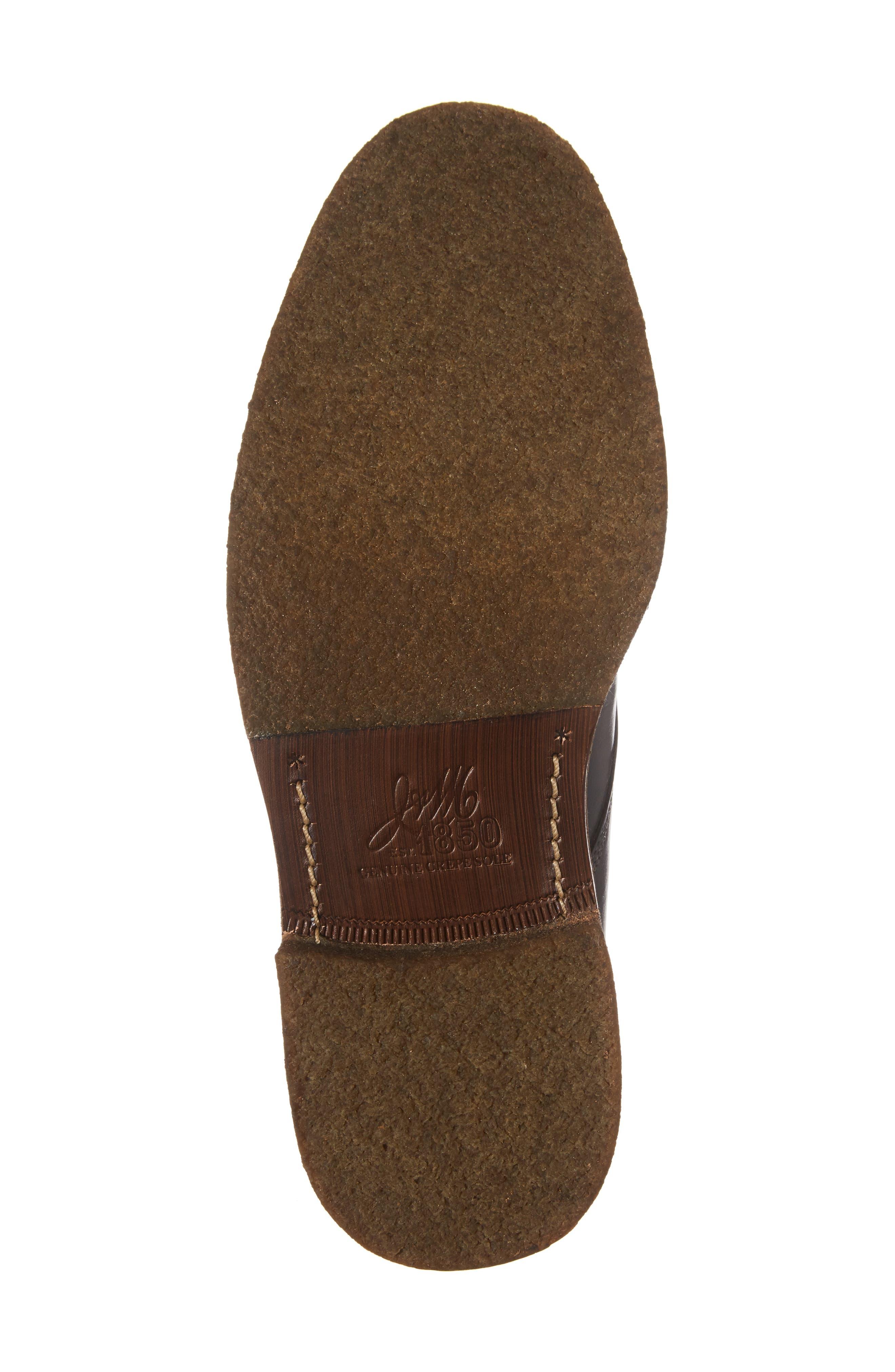 Forrester Chukka Boot,                             Alternate thumbnail 6, color,                             Black Leather
