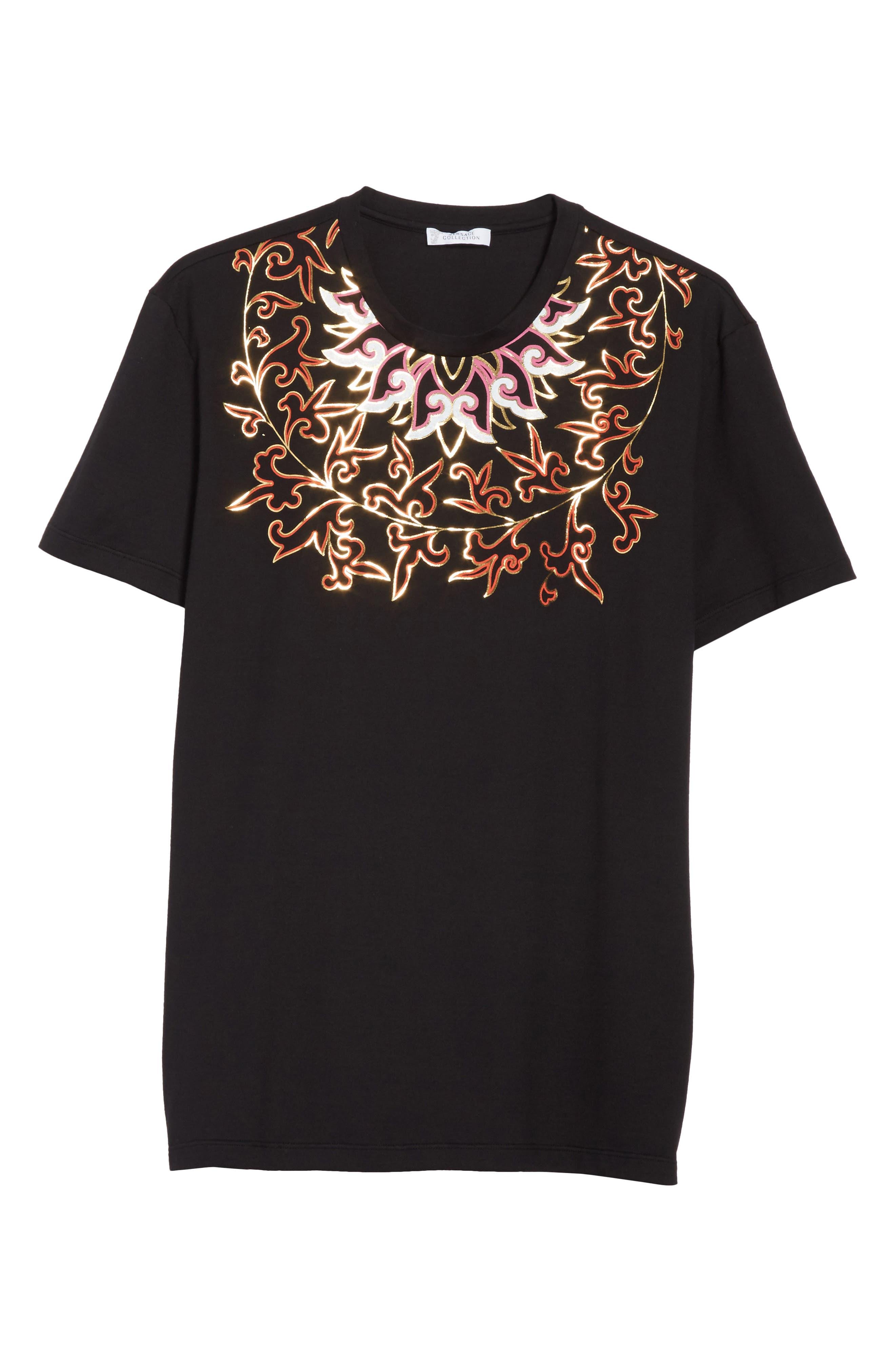 Alternate Image 6  - Versace Collection Baroque Foil Print T-Shirt