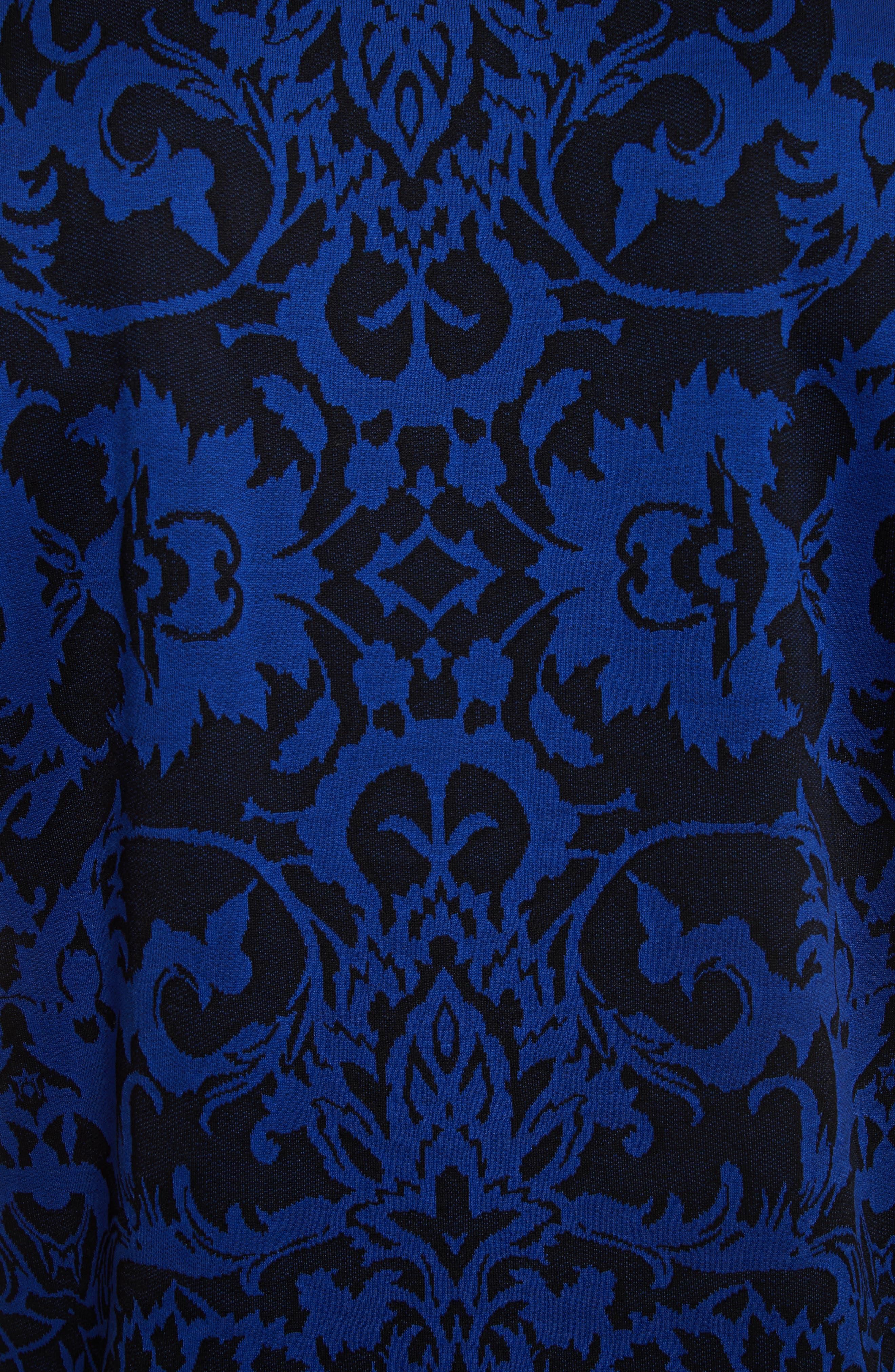 Baroque,                             Alternate thumbnail 5, color,                             Blue/ Black