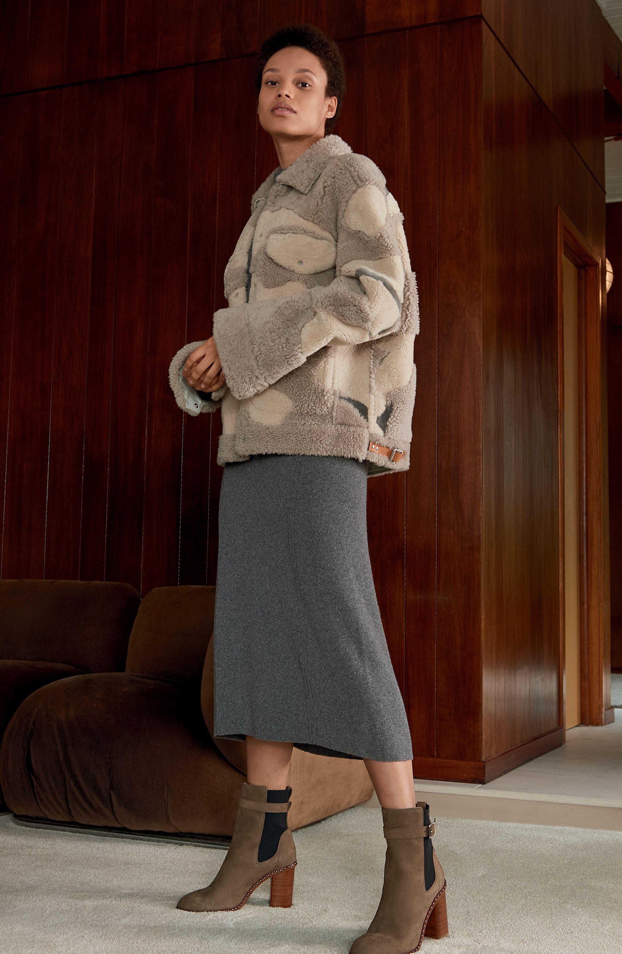 Alternate Image 7  - rag & bone Romi Studded Chelsea Bootie (Women)