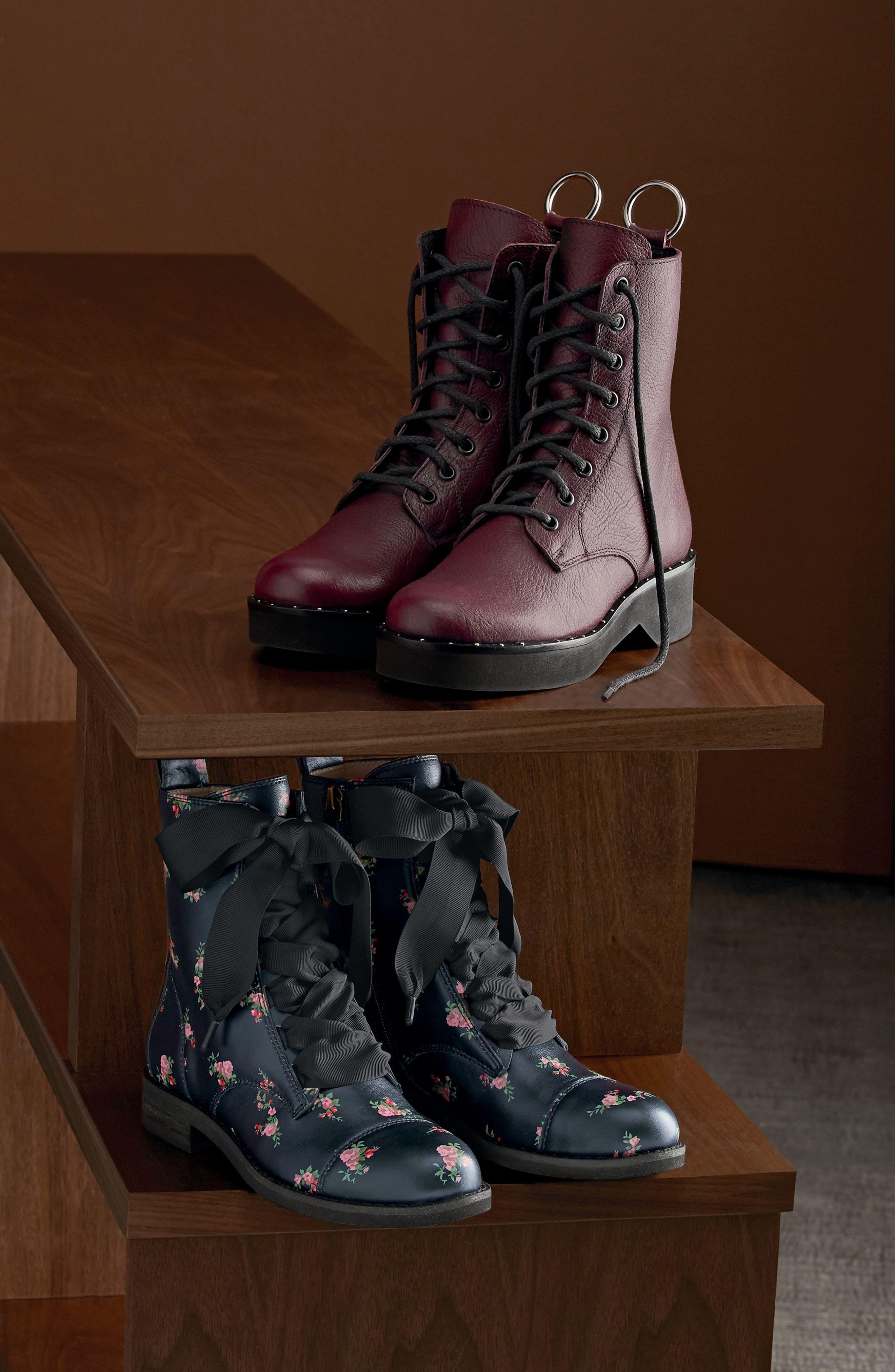 Rocco Combat Boot,                             Alternate thumbnail 7, color,