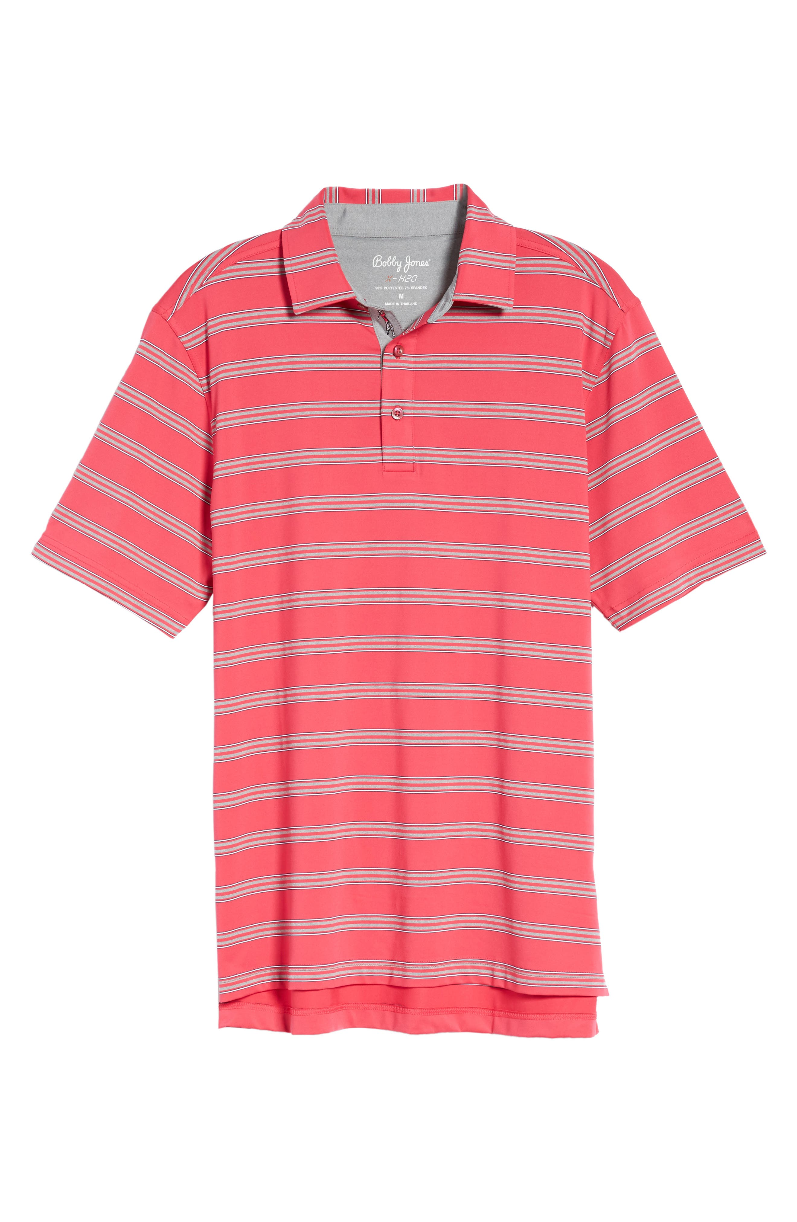Alternate Image 3  - Bobby Jones XH2O Wren Heather Stripe Polo