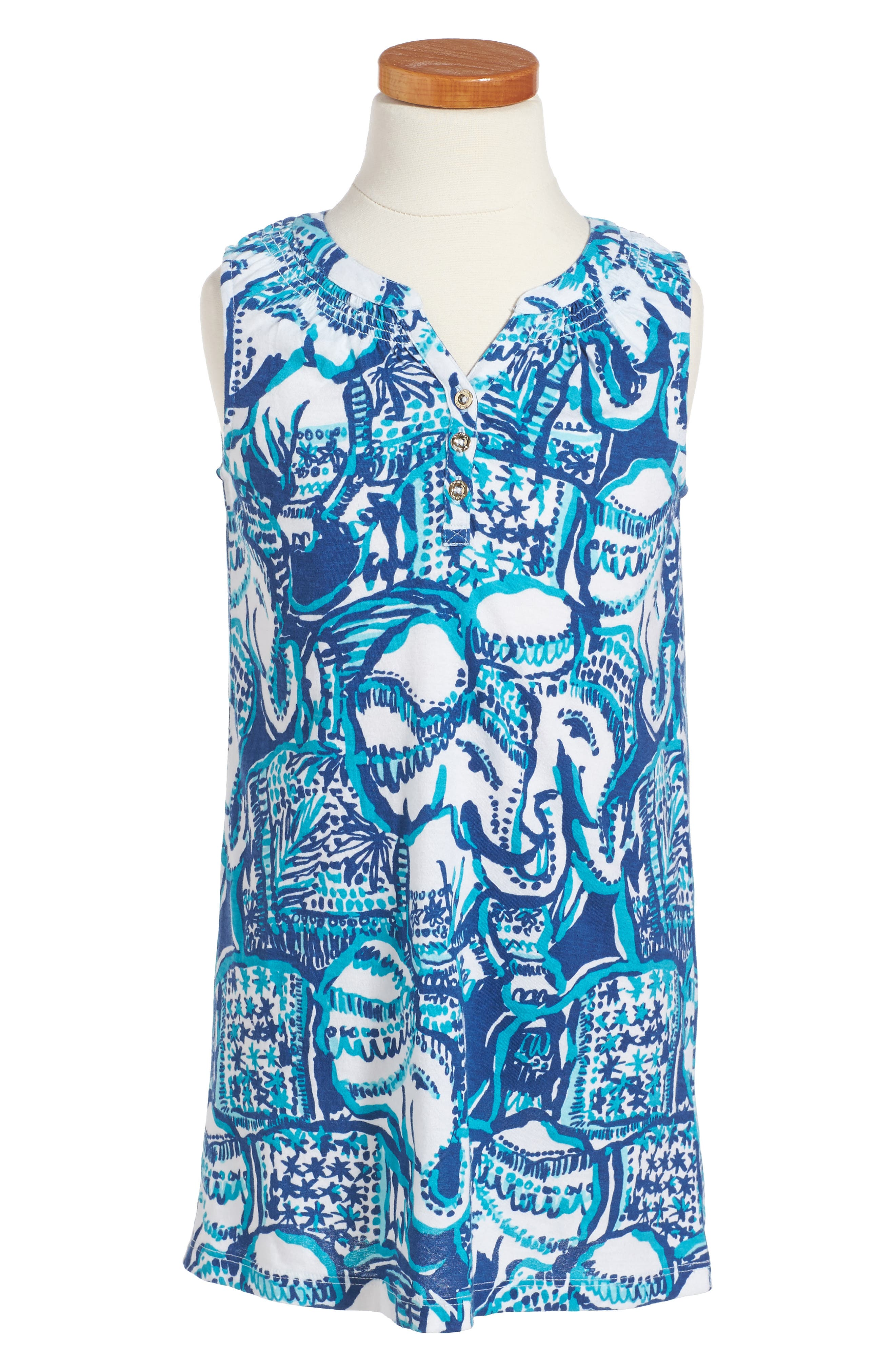 Alternate Image 1 Selected - Lilly Pulitzer® Mini Essie Shift Dress (Toddler Girls, Little Girls & Big Girls)