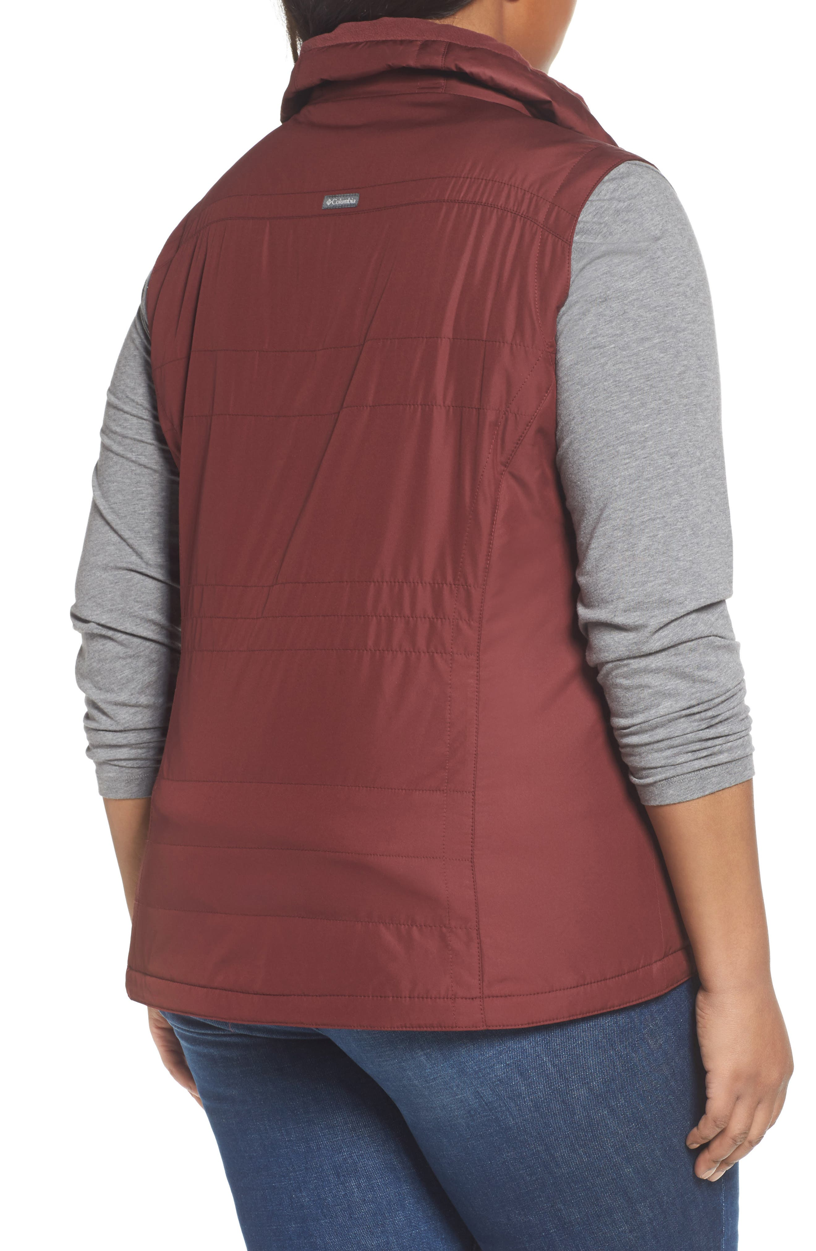 Alternate Image 2  - Columbia Shining Light II Quilted Vest (Plus Size)