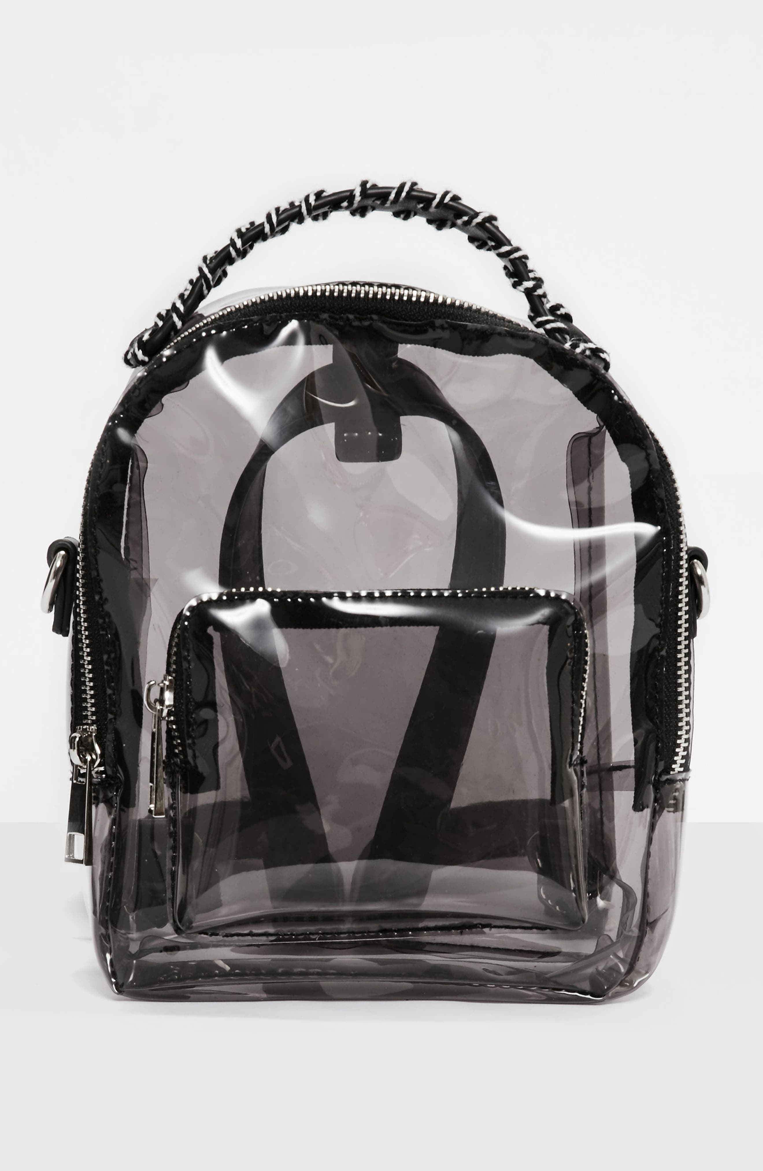 Perspex<sup>®</sup> Mini Backpack,                             Alternate thumbnail 2, color,                             Black