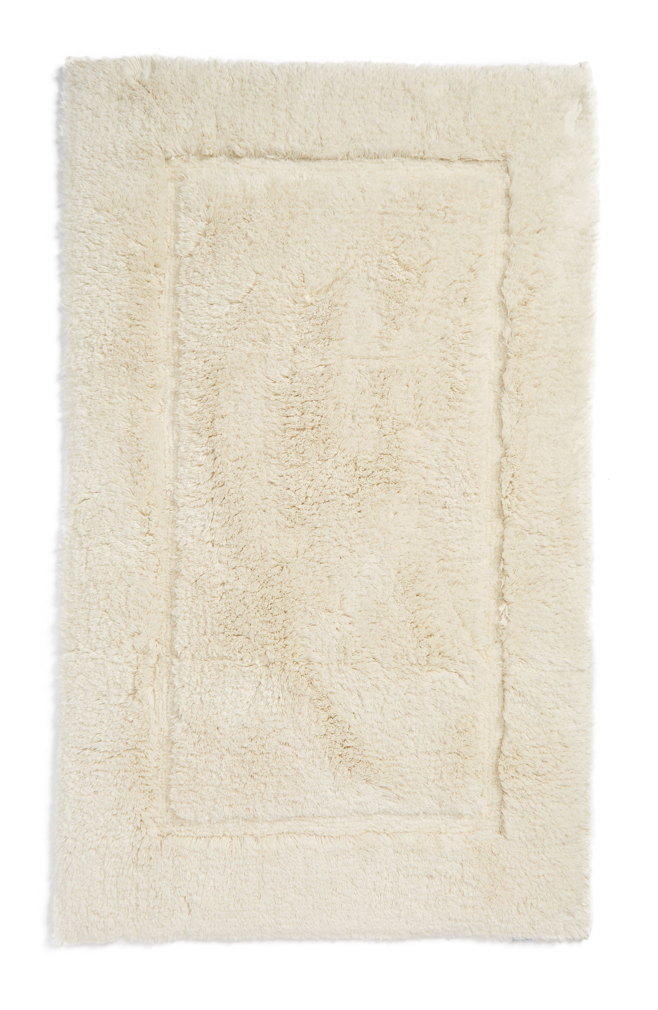 Milagro Bath Rug,                         Main,                         color, Ivory