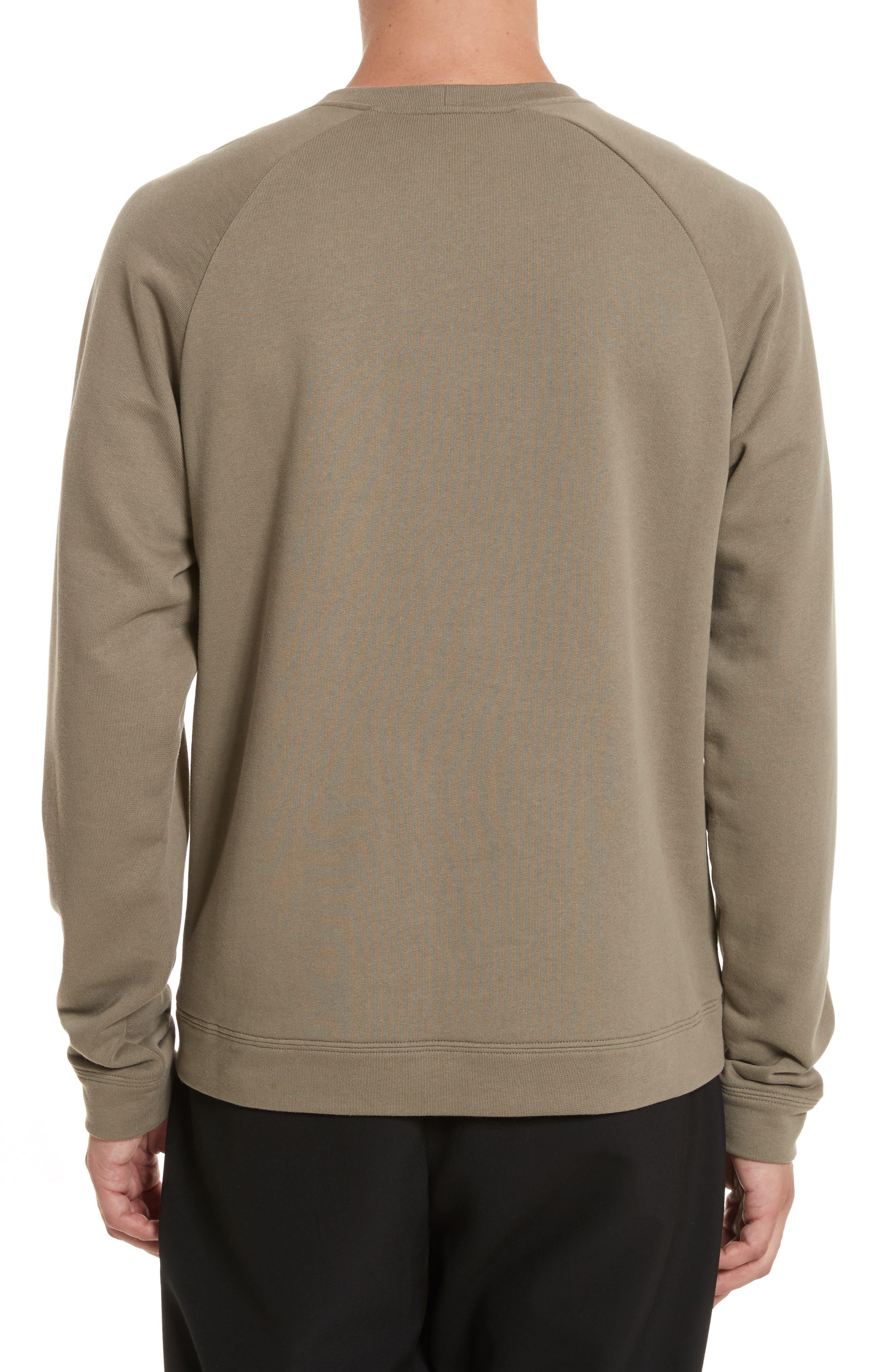 Alternate Image 2  - Versace Collection Patch Logo Sweatshirt