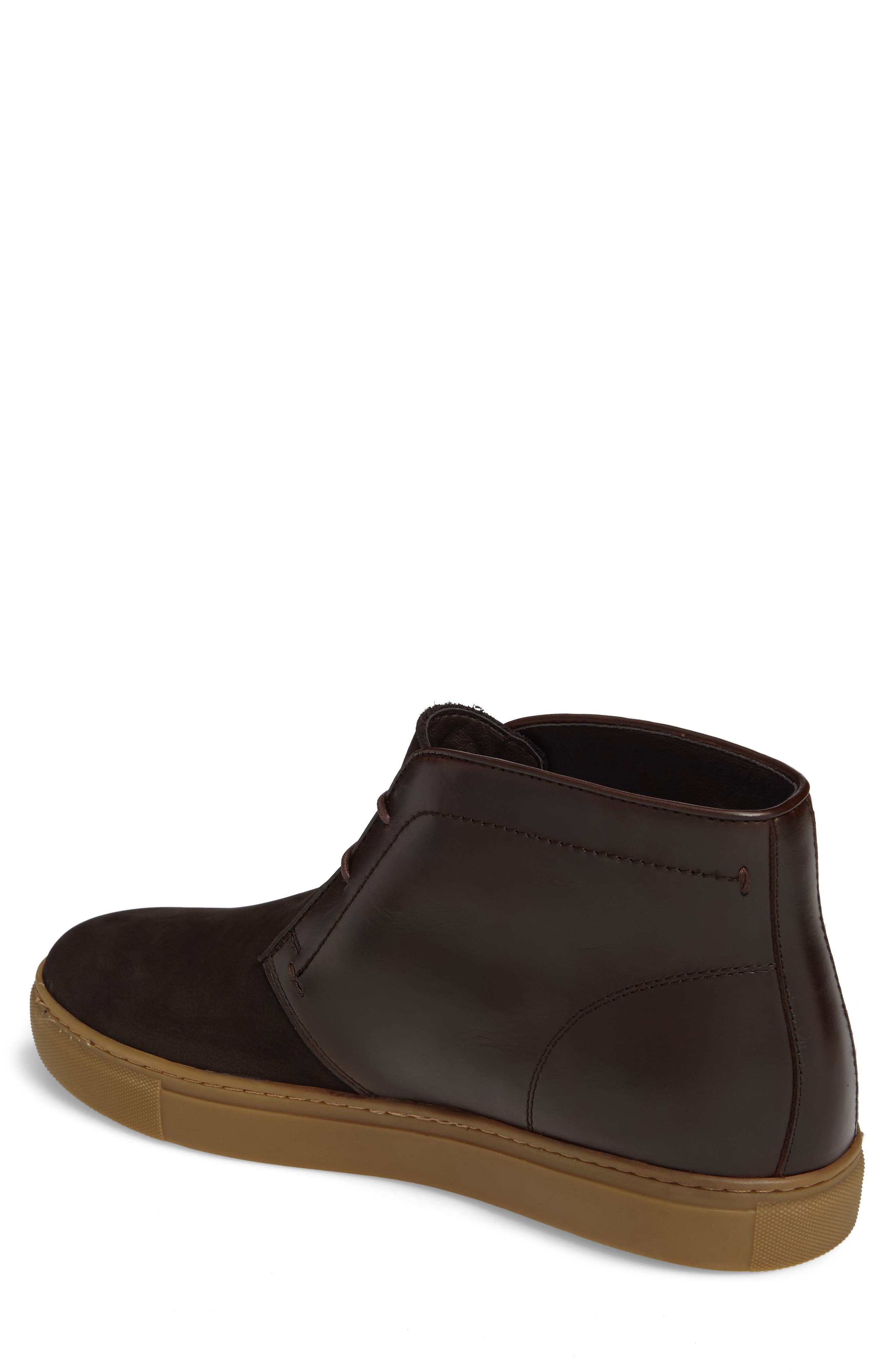 Laxey Mid Sneaker,                             Alternate thumbnail 2, color,                             Brown