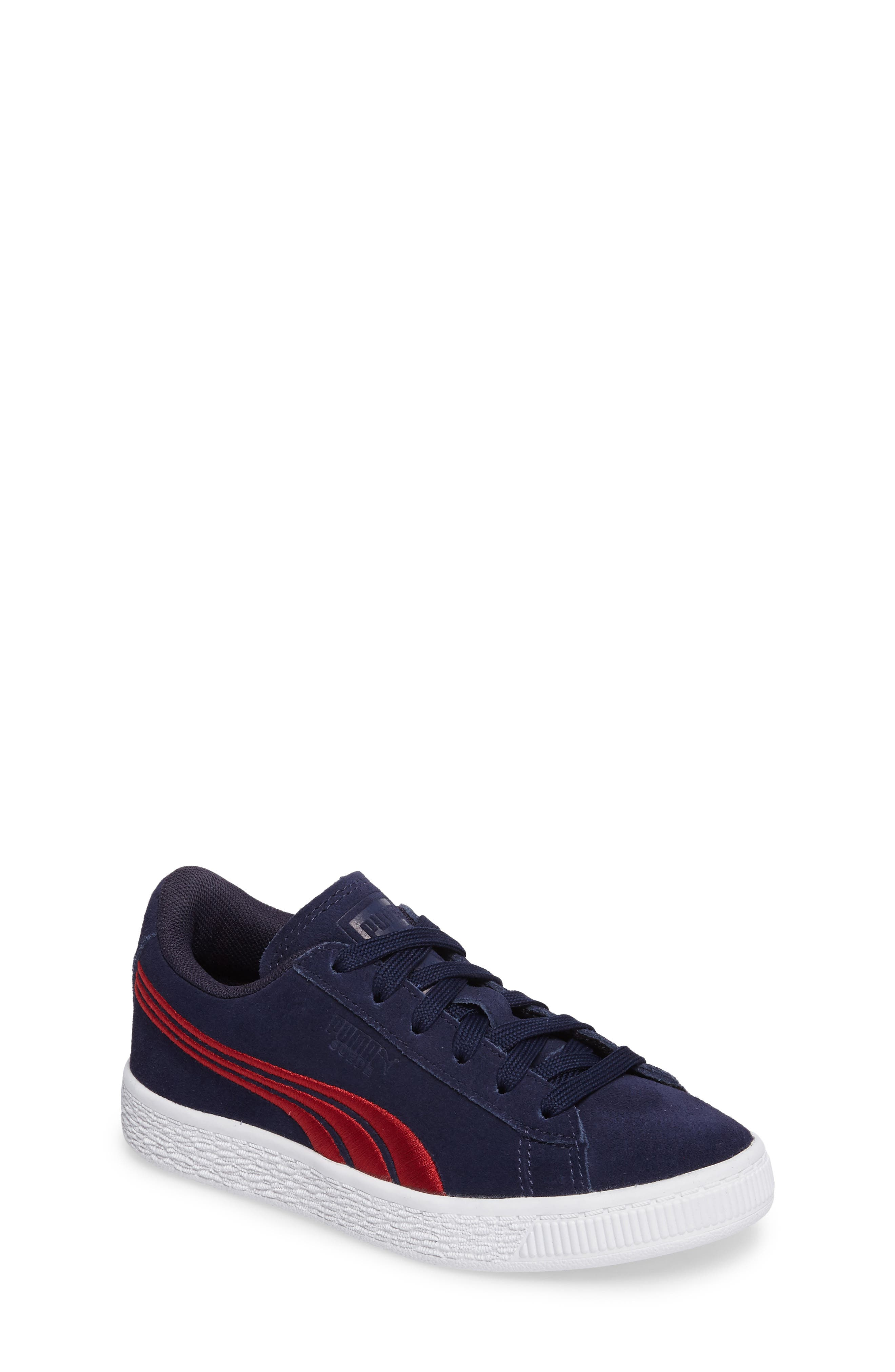 PUMA Suede Classic Badge Sneaker (Toddler, Little Kid & Big Kid)
