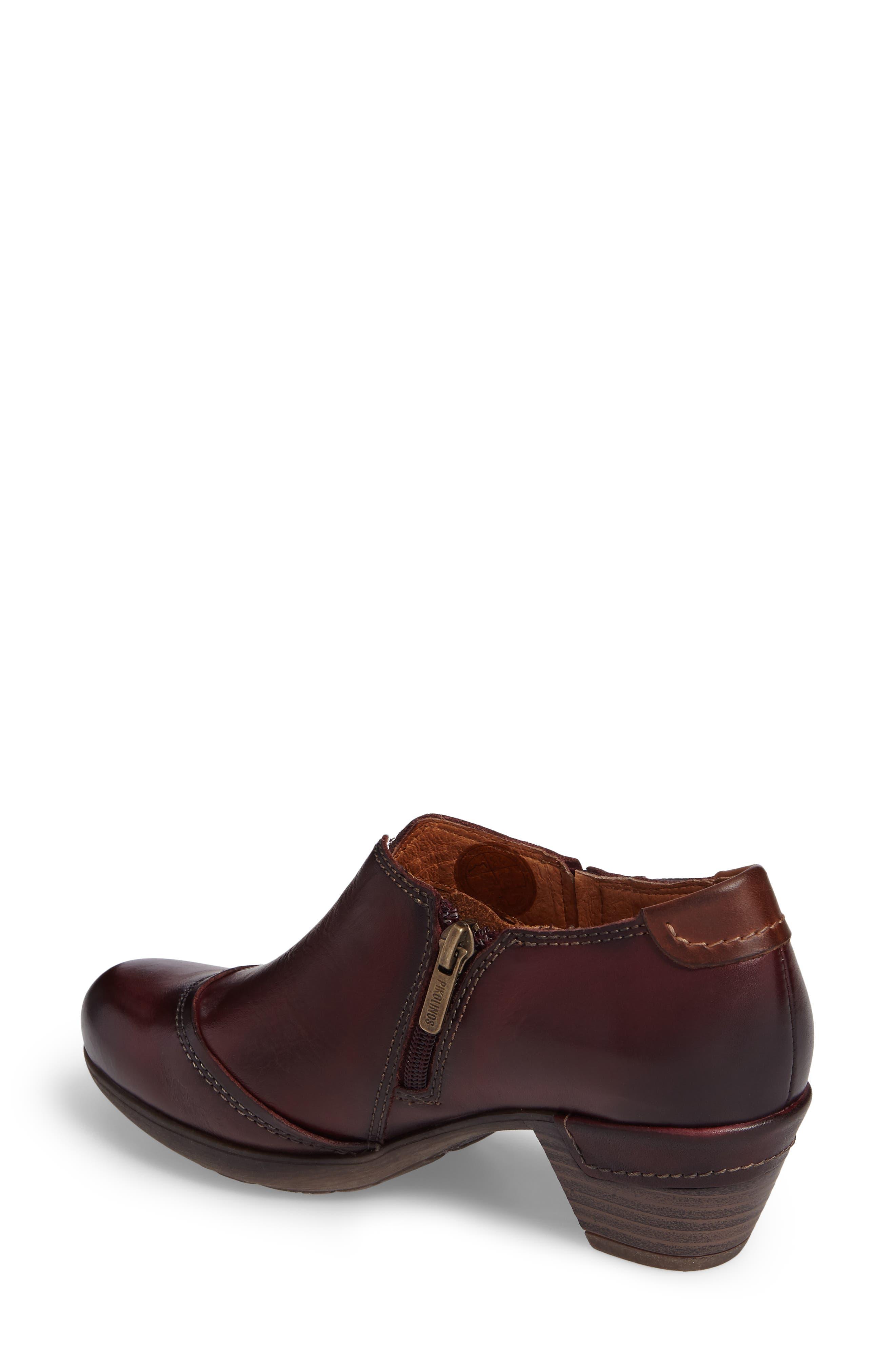 Rotterdam Bootie,                             Alternate thumbnail 2, color,                             Garnet Cuero Leather