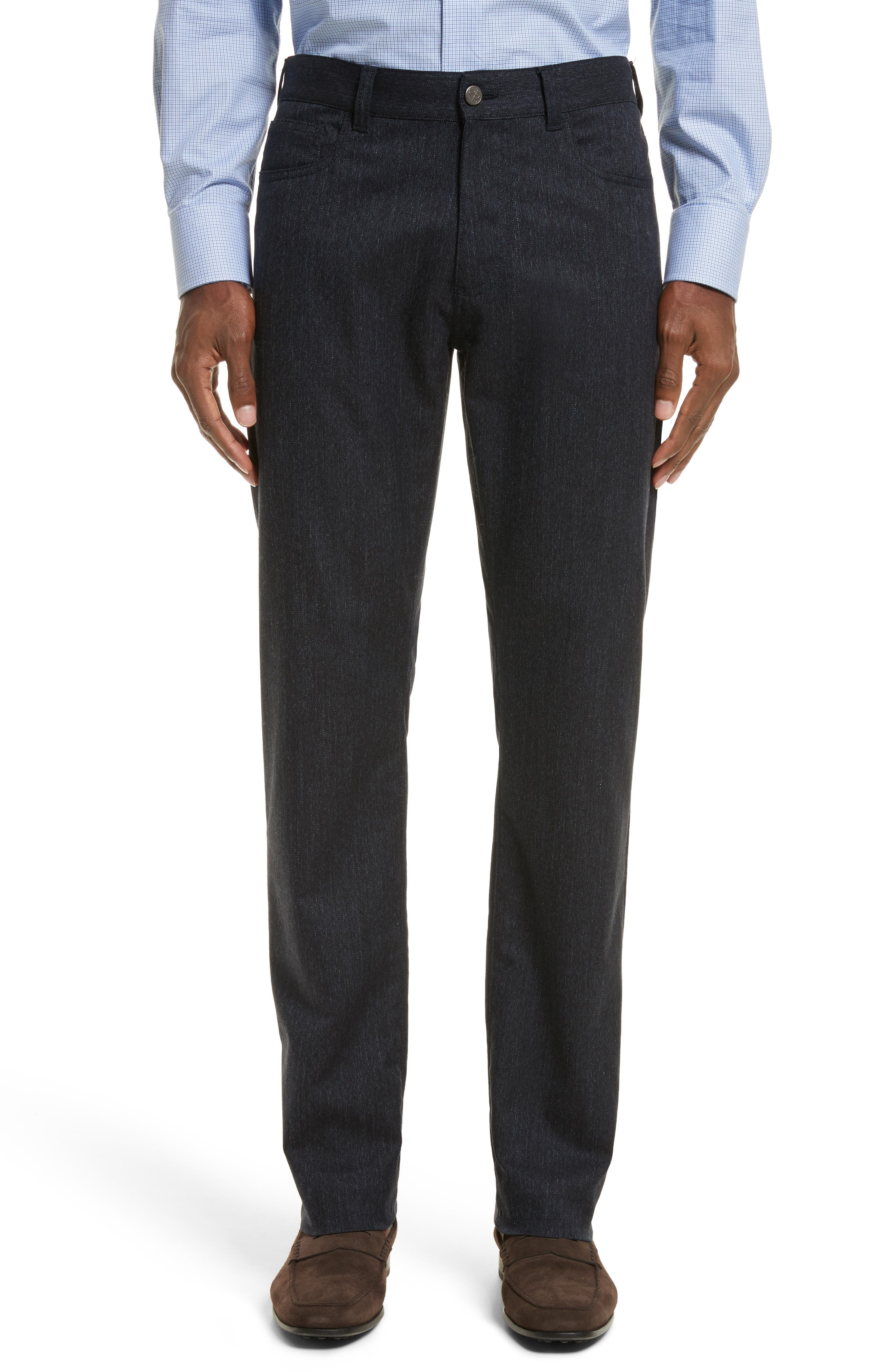 Canali Regular Fit Jeans