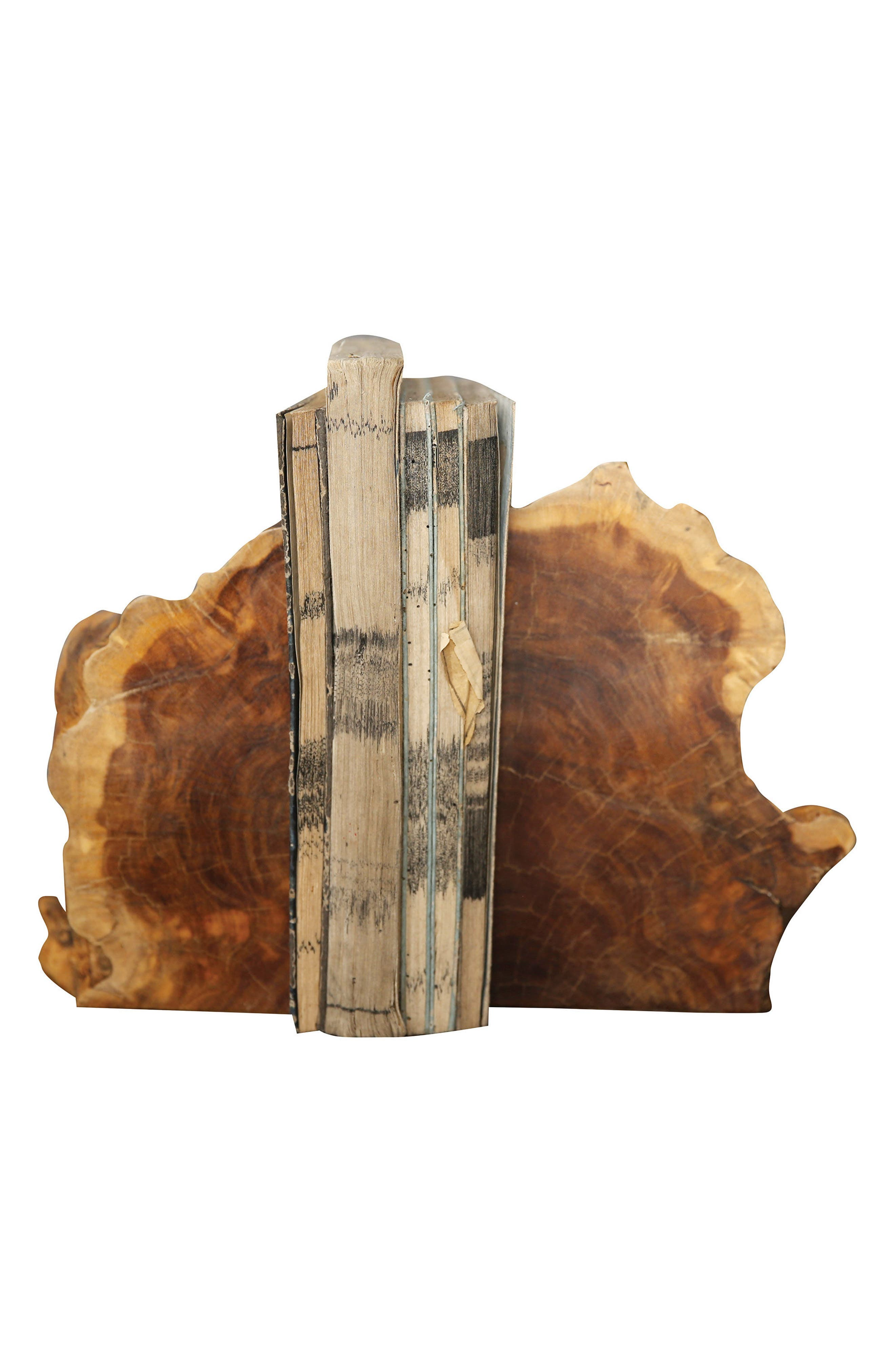 Creative Co-Op Set of 2 Wood Bookends