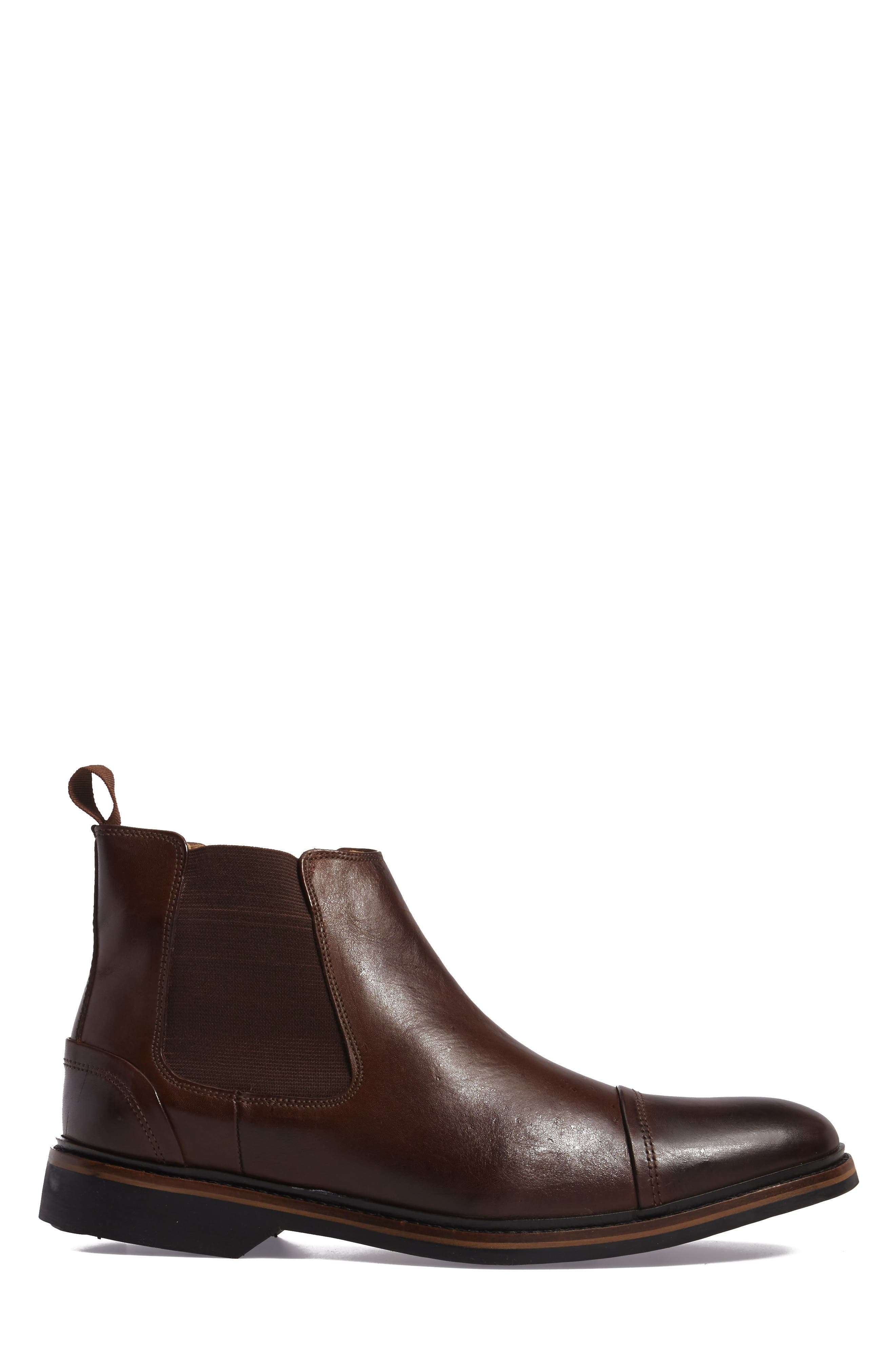 Floriano Chelsea Boot,                             Alternate thumbnail 3, color,                             Touch Castanho