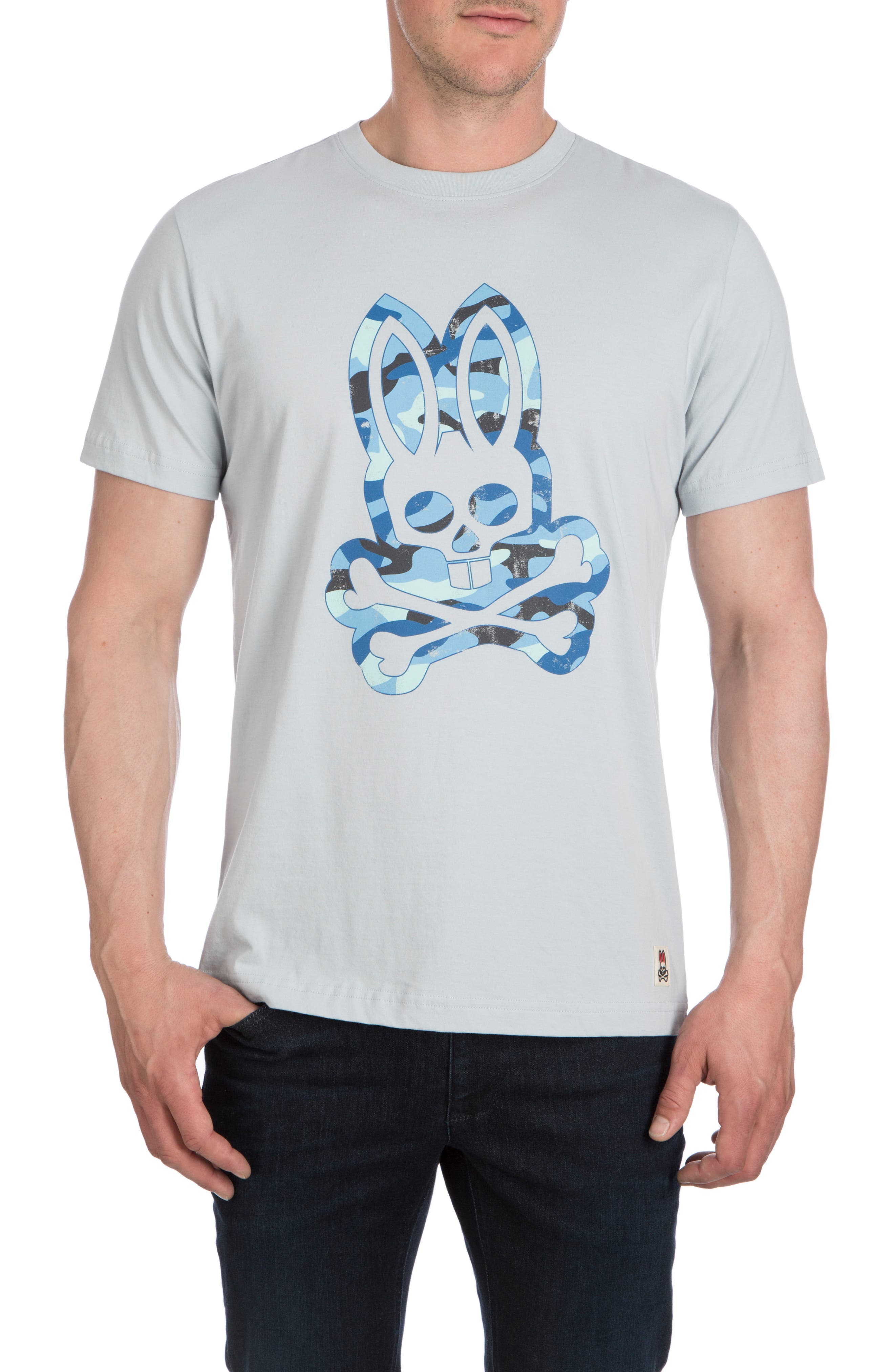 Camo Bunny T-Shirt,                         Main,                         color, Pearl