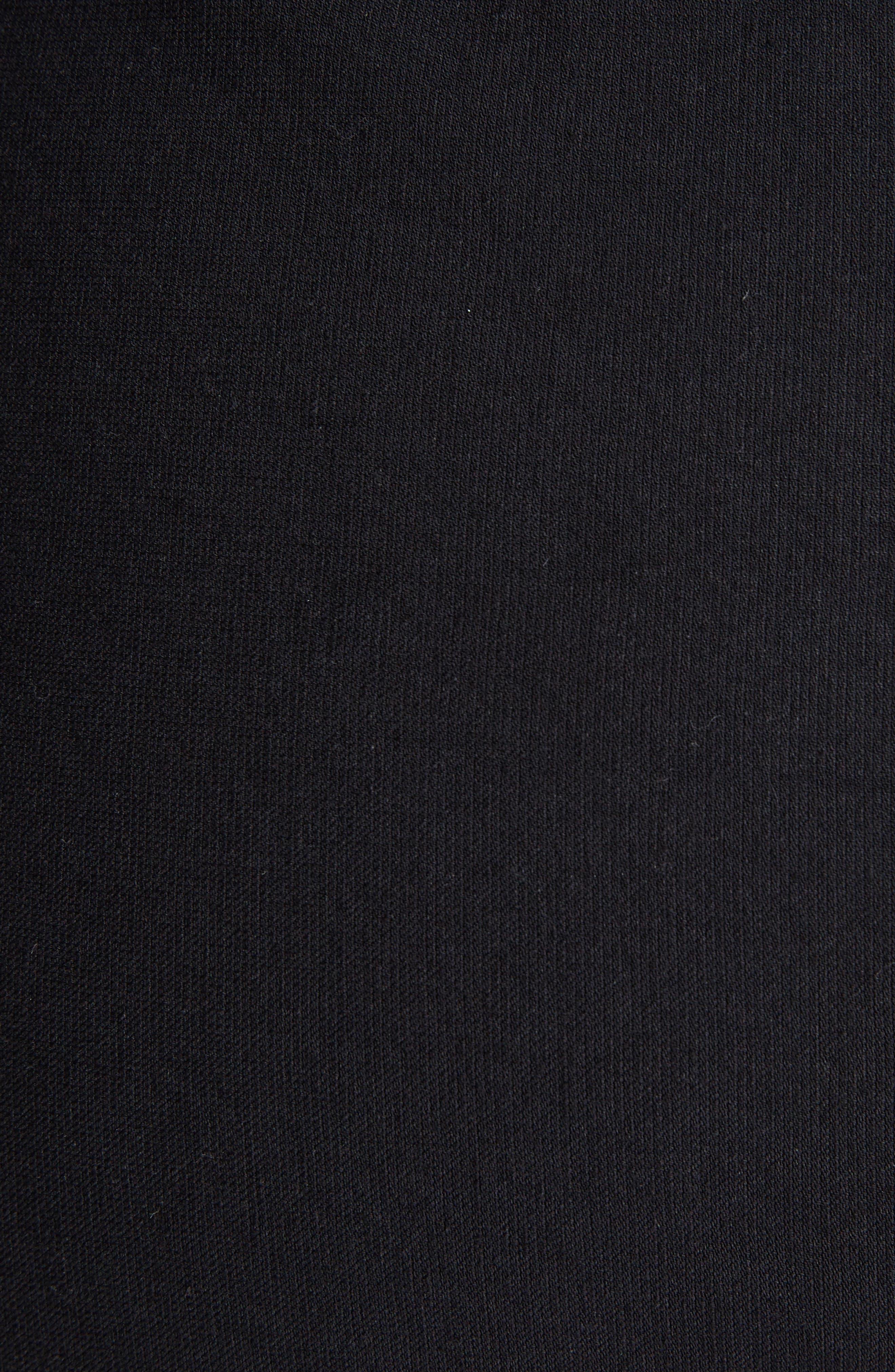 Lefly Ruffle Miniskirt,                             Alternate thumbnail 5, color,                             Black