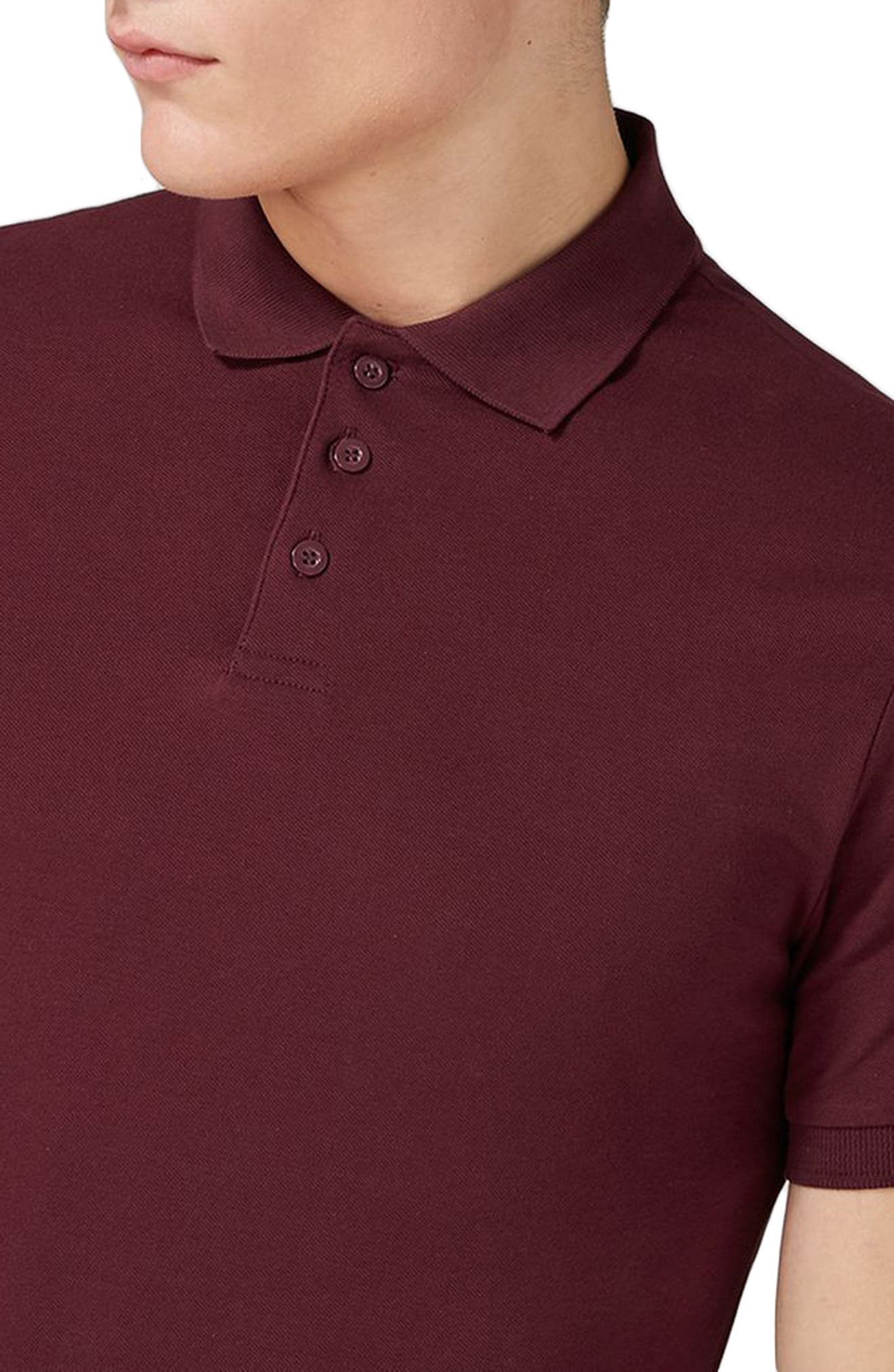 Alternate Image 3  - Topman Muscle Fit Polo