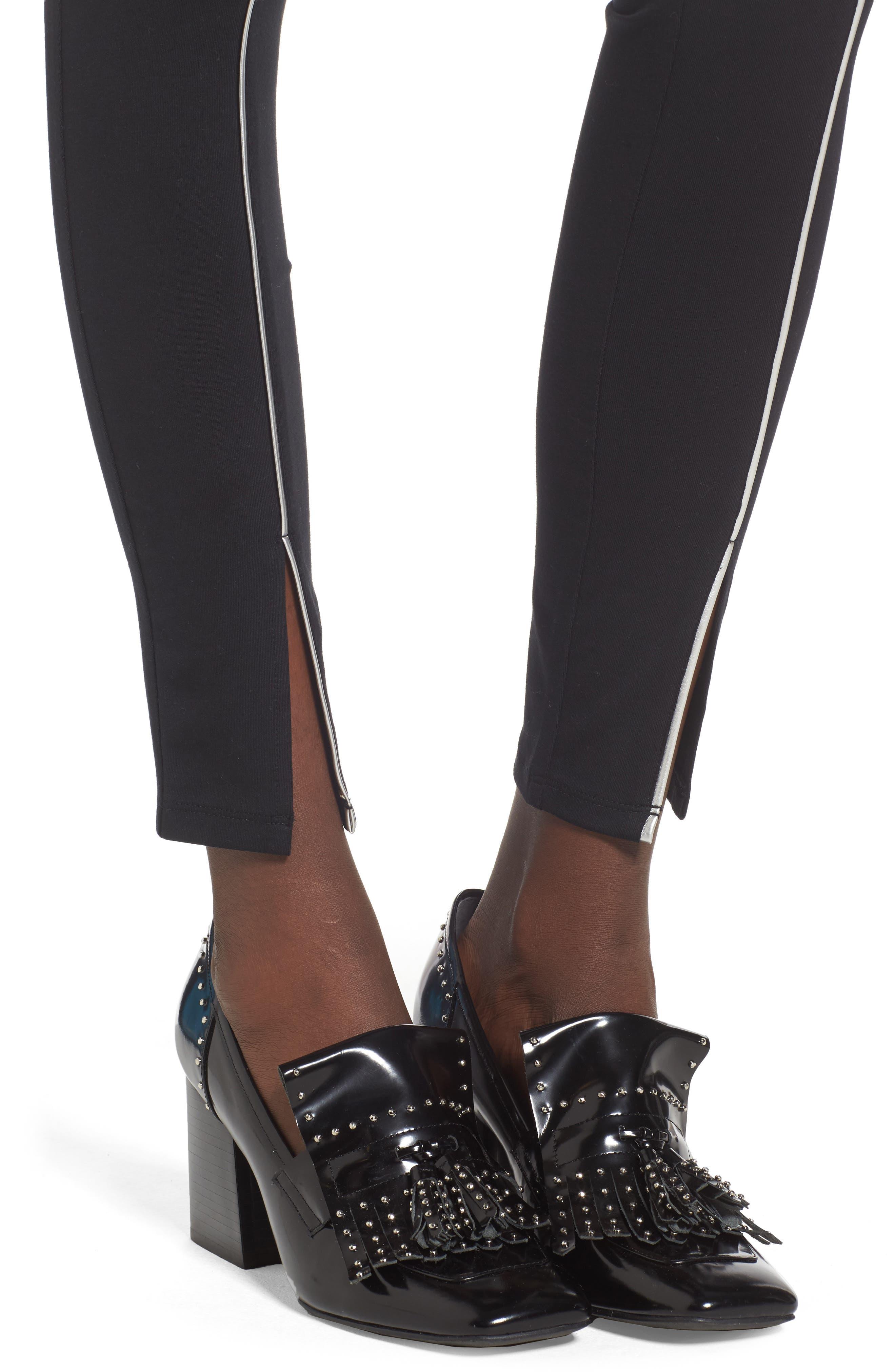 Alternate Image 4  - BP. Silver Piping Leggings