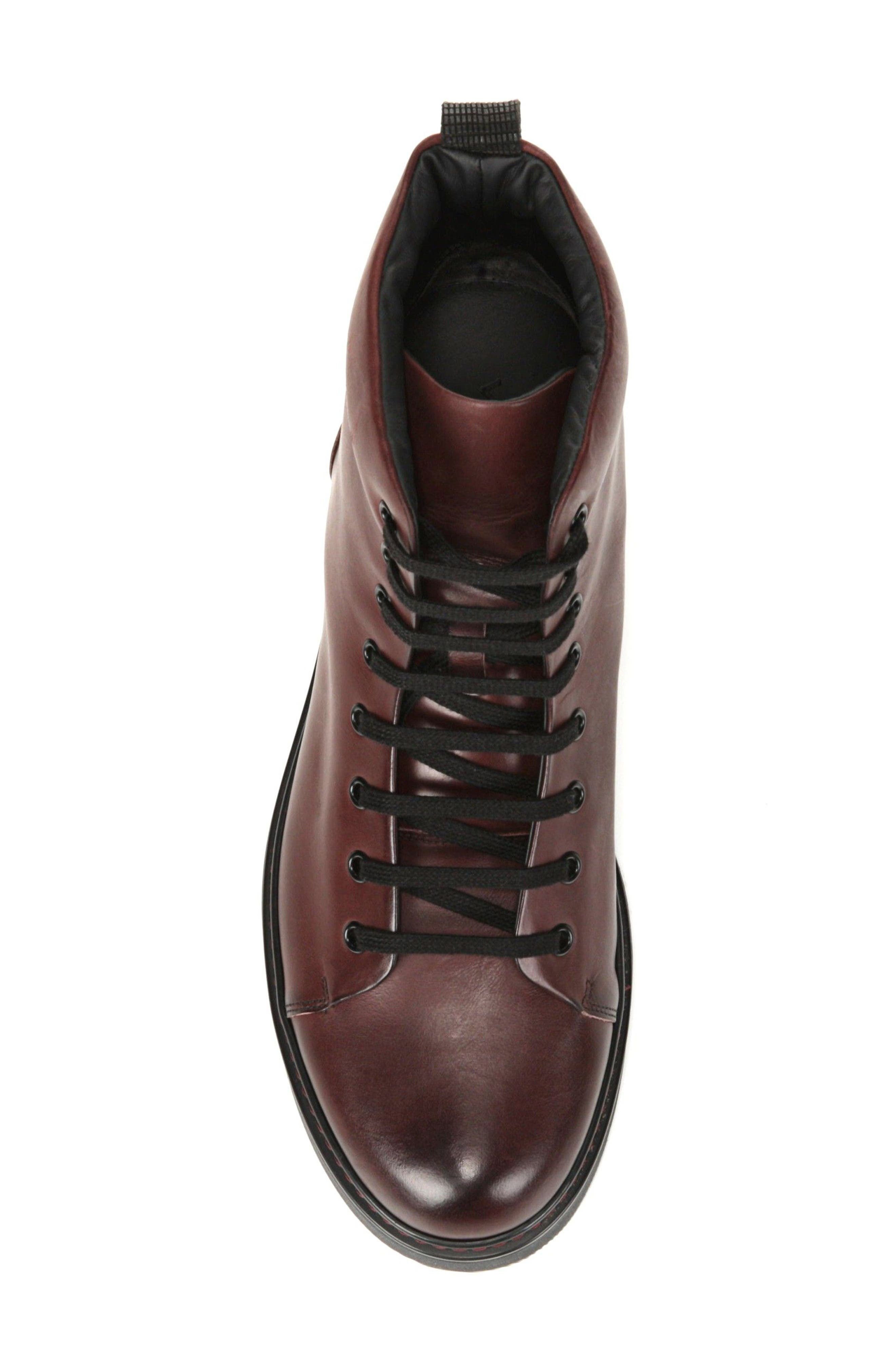 Alternate Image 5  - Vince Malone Plain Toe Boot (Men)