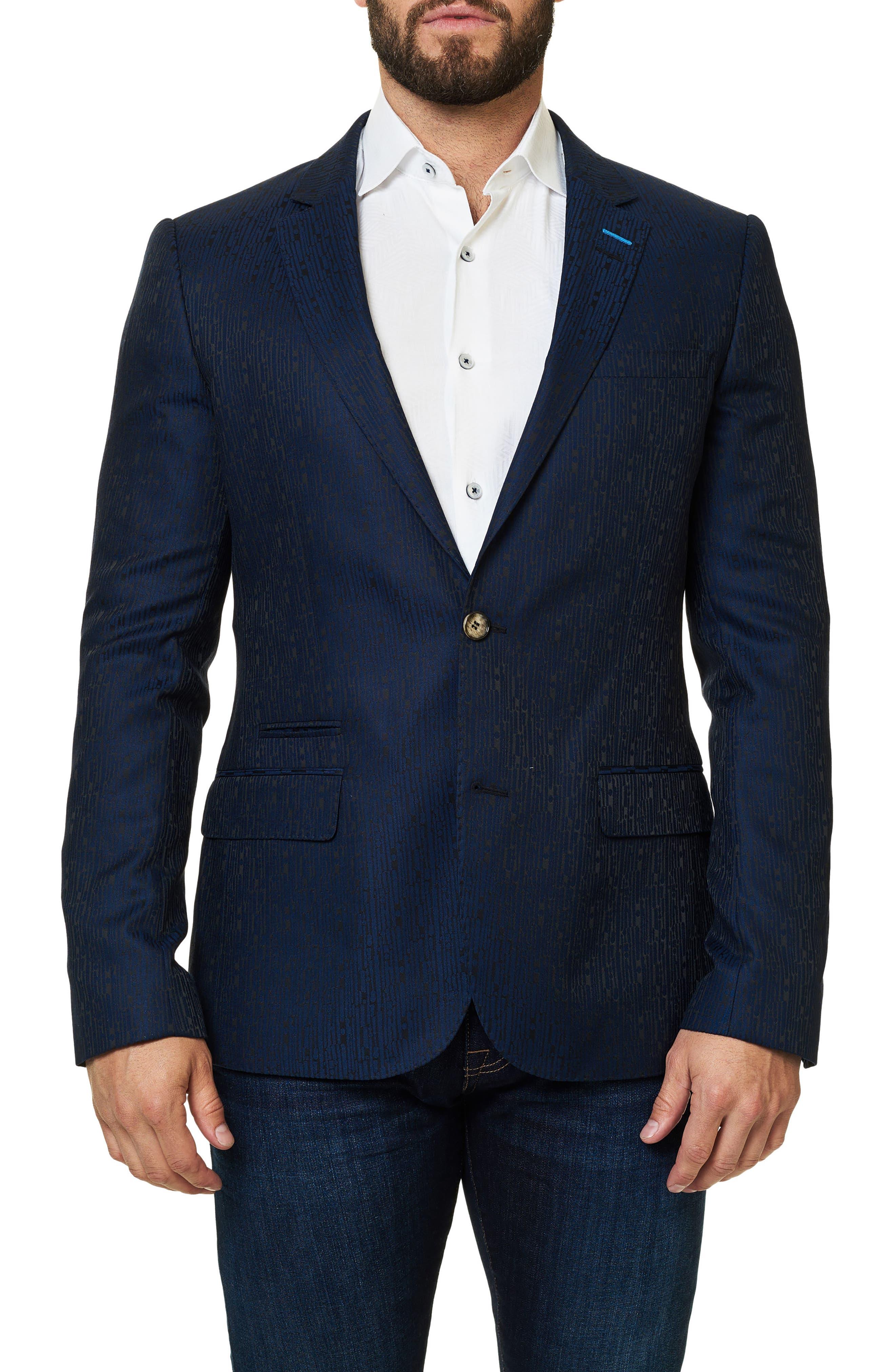 Alternate Image 1 Selected - Maceoo Socrate Jacquard Sport Coat