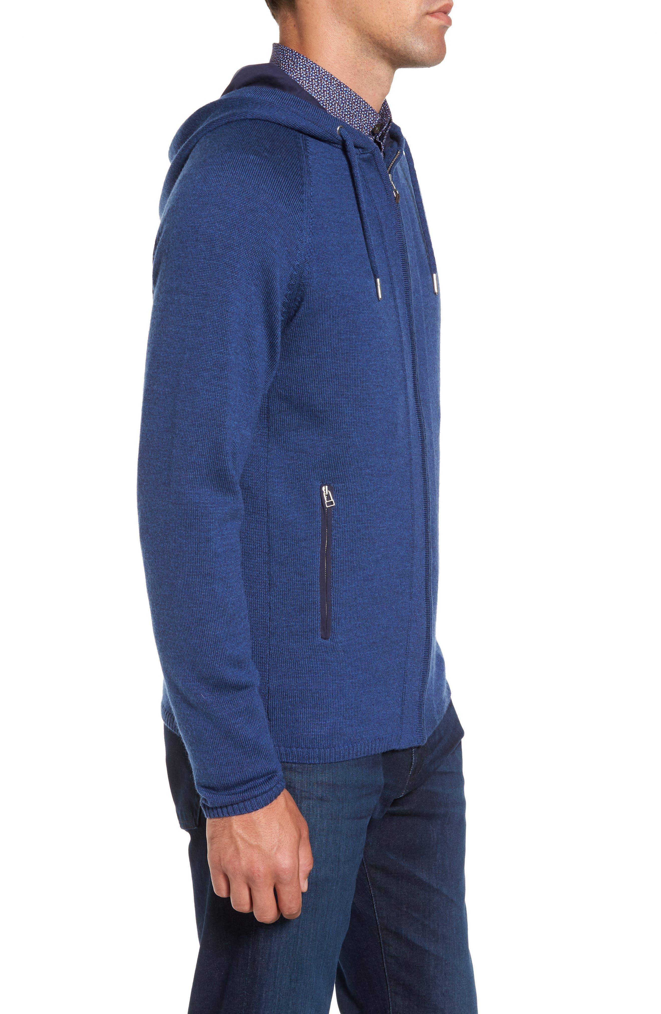 Alternate Image 3  - Rodd & Gunn Grand Vue Hooded Zip Front Knit Sweater