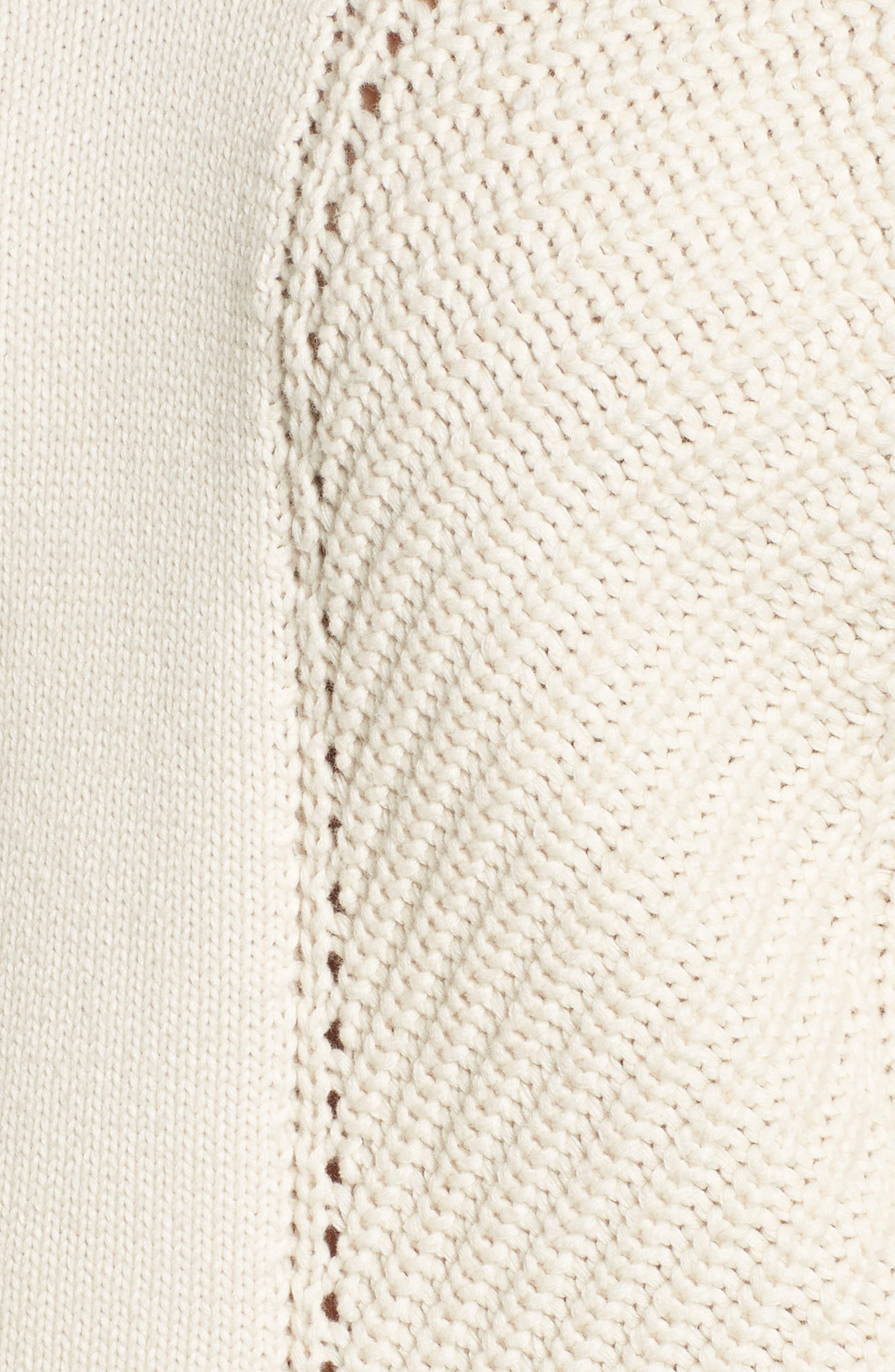 Millie Mozart Sweater,                             Alternate thumbnail 5, color,                             Classic Cream