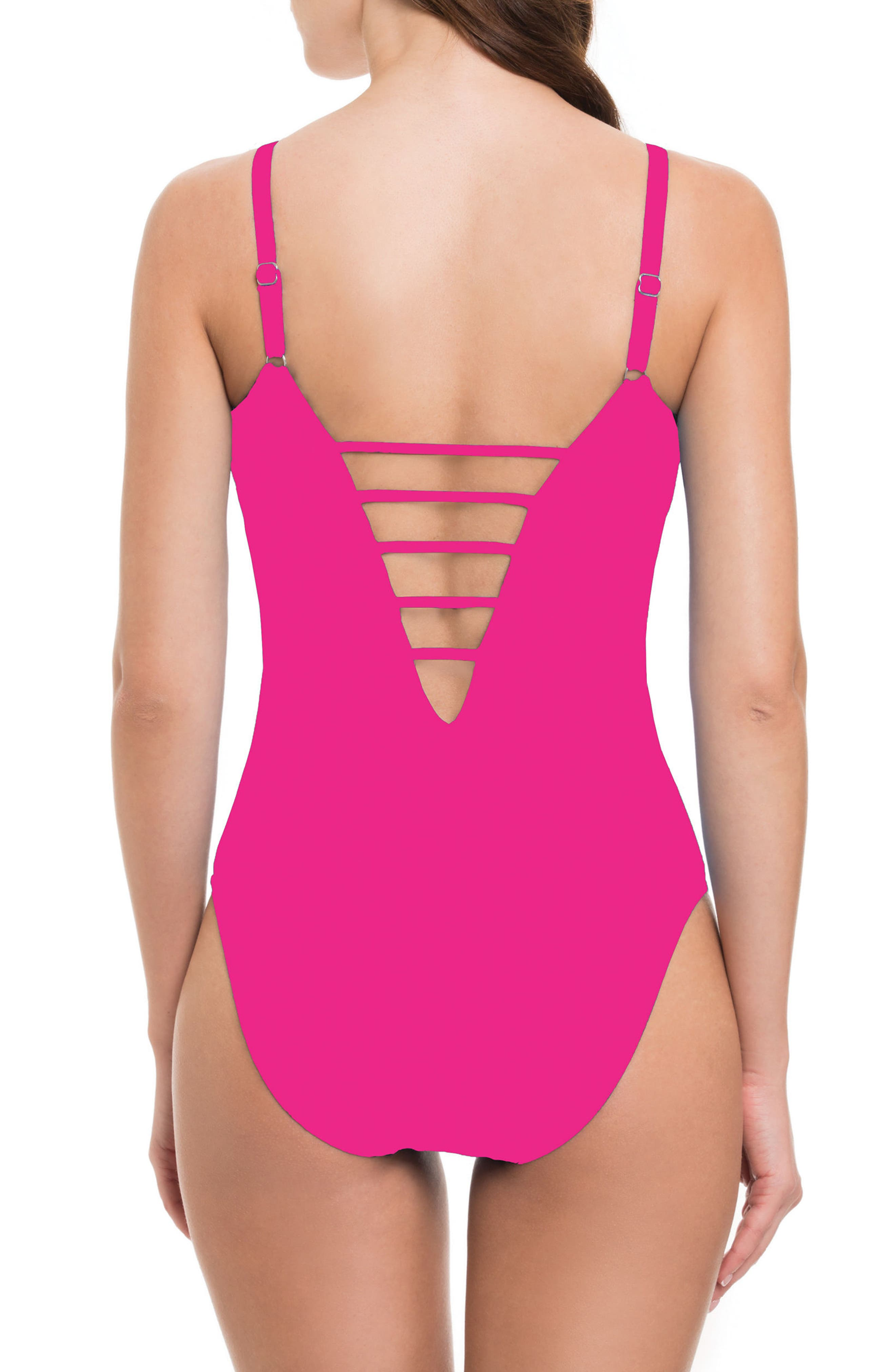 Alternate Image 2  - Profile by Gottex Quartzite One-Piece Swimsuit