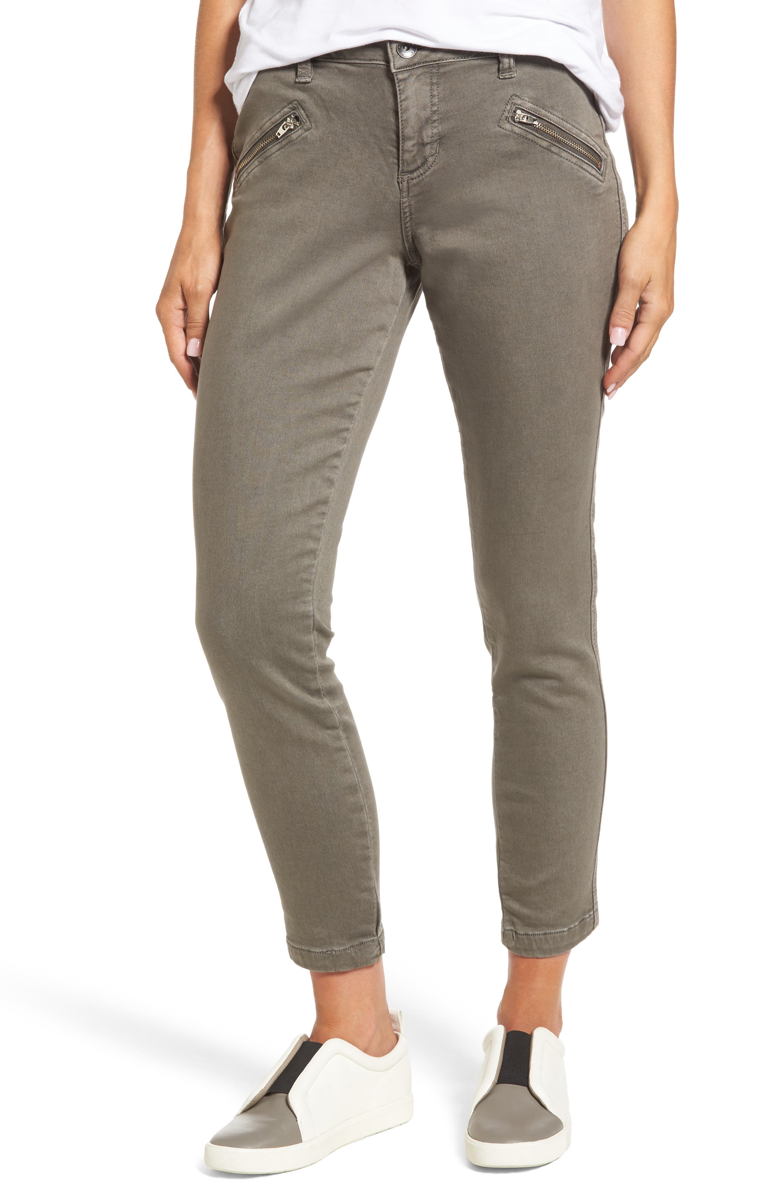 Ryan Knit Skinny Jeans,                         Main,                         color, Lava Rock
