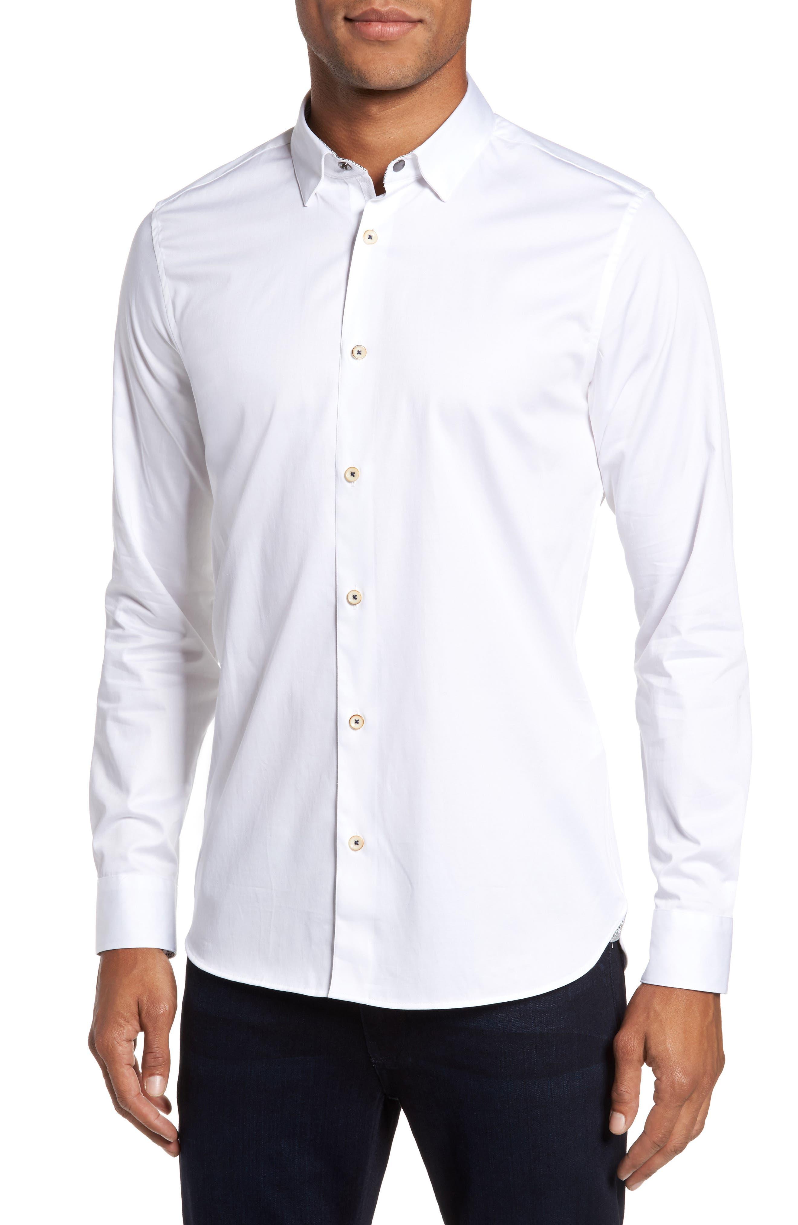 Ted Baker London Marsay Modern Slim Fit Sport Shirt