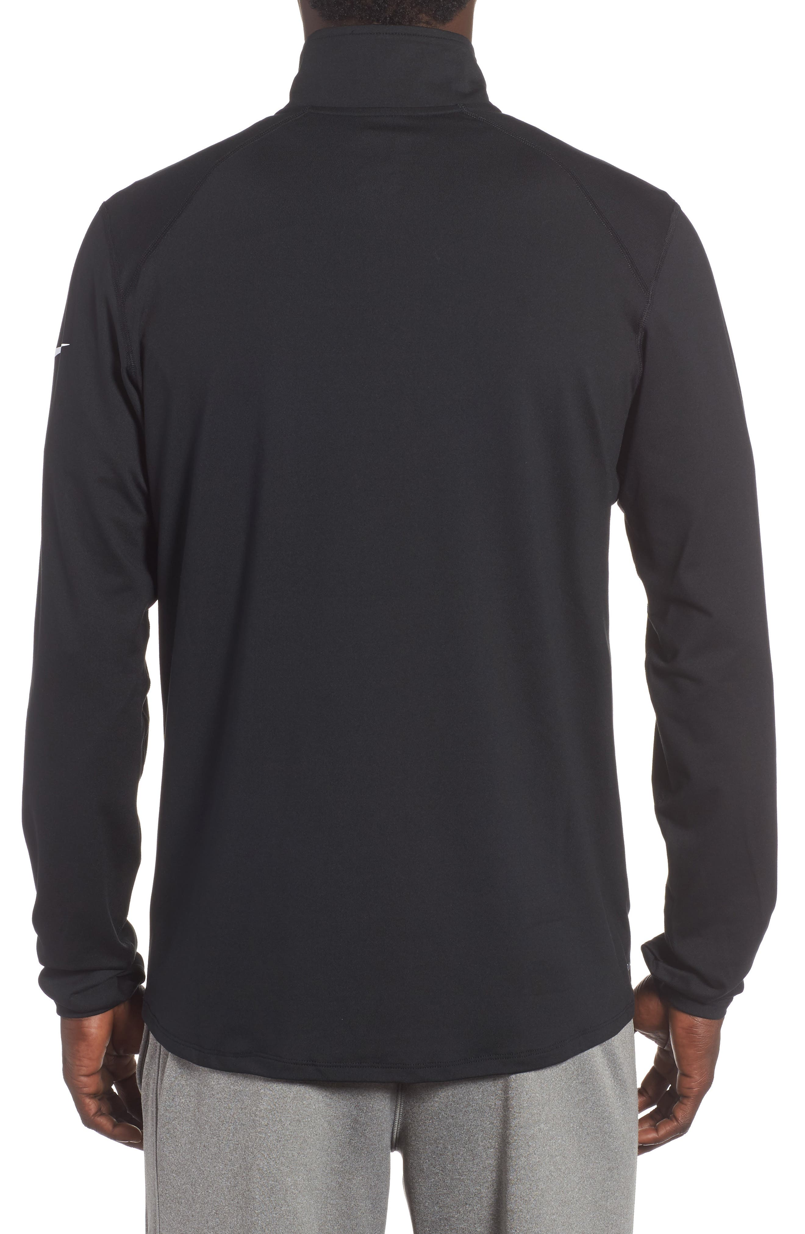 Alternate Image 2  - Nike NFL Team Element Quarter Zip Pullover