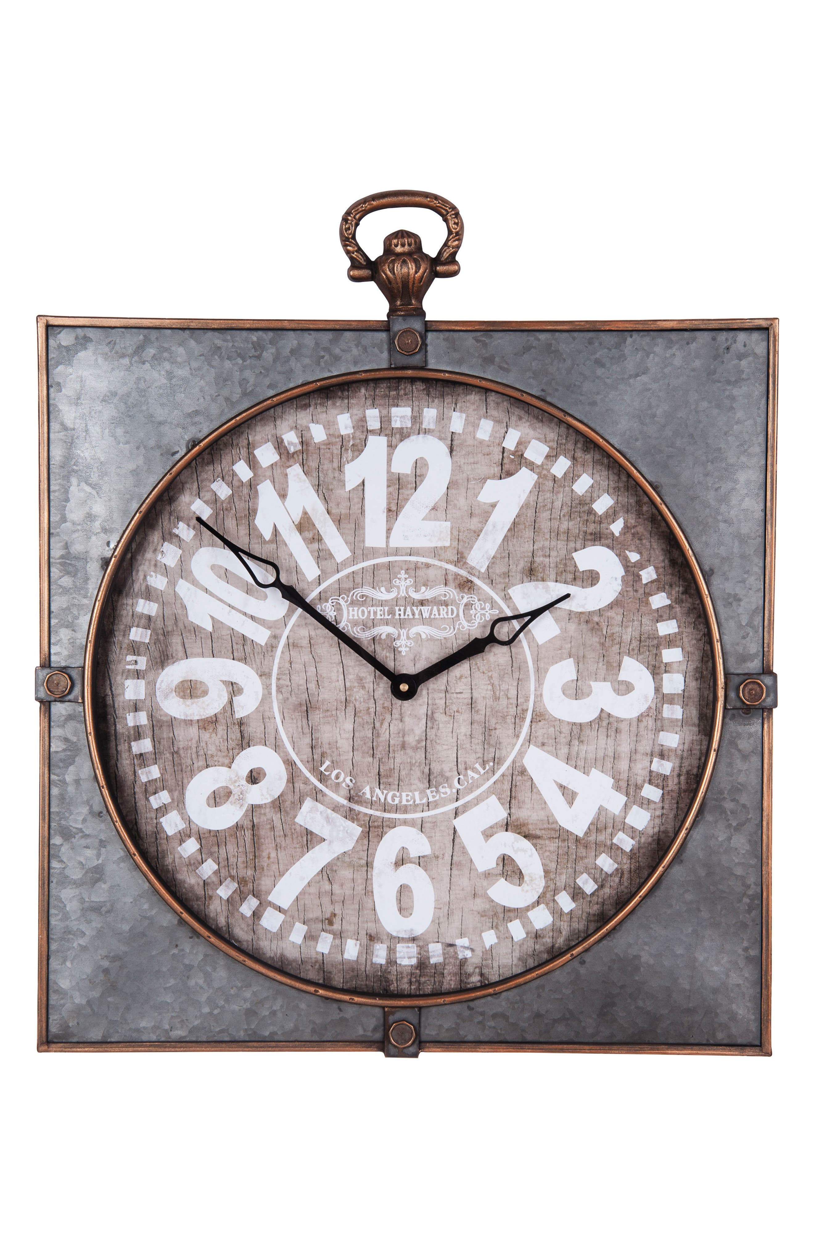 Main Image - Foreside Library Wall Clock