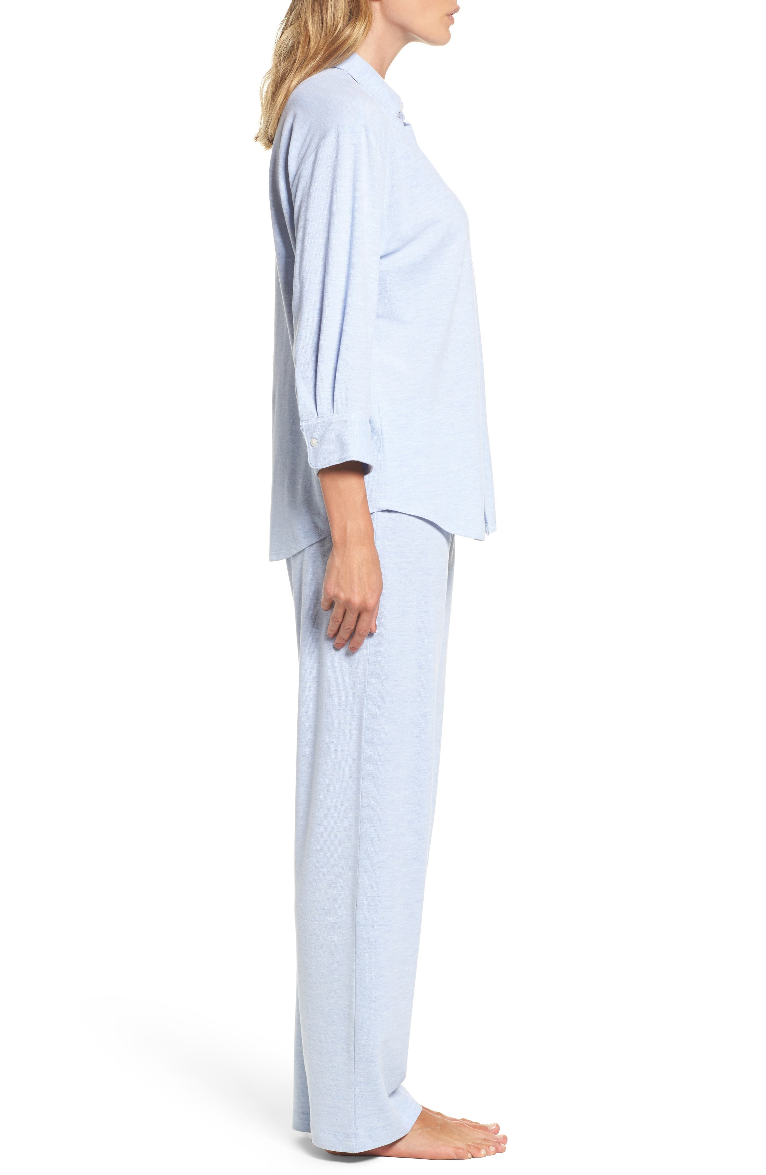Alternate Image 3  - Lauren Ralph Lauren Long Pajamas
