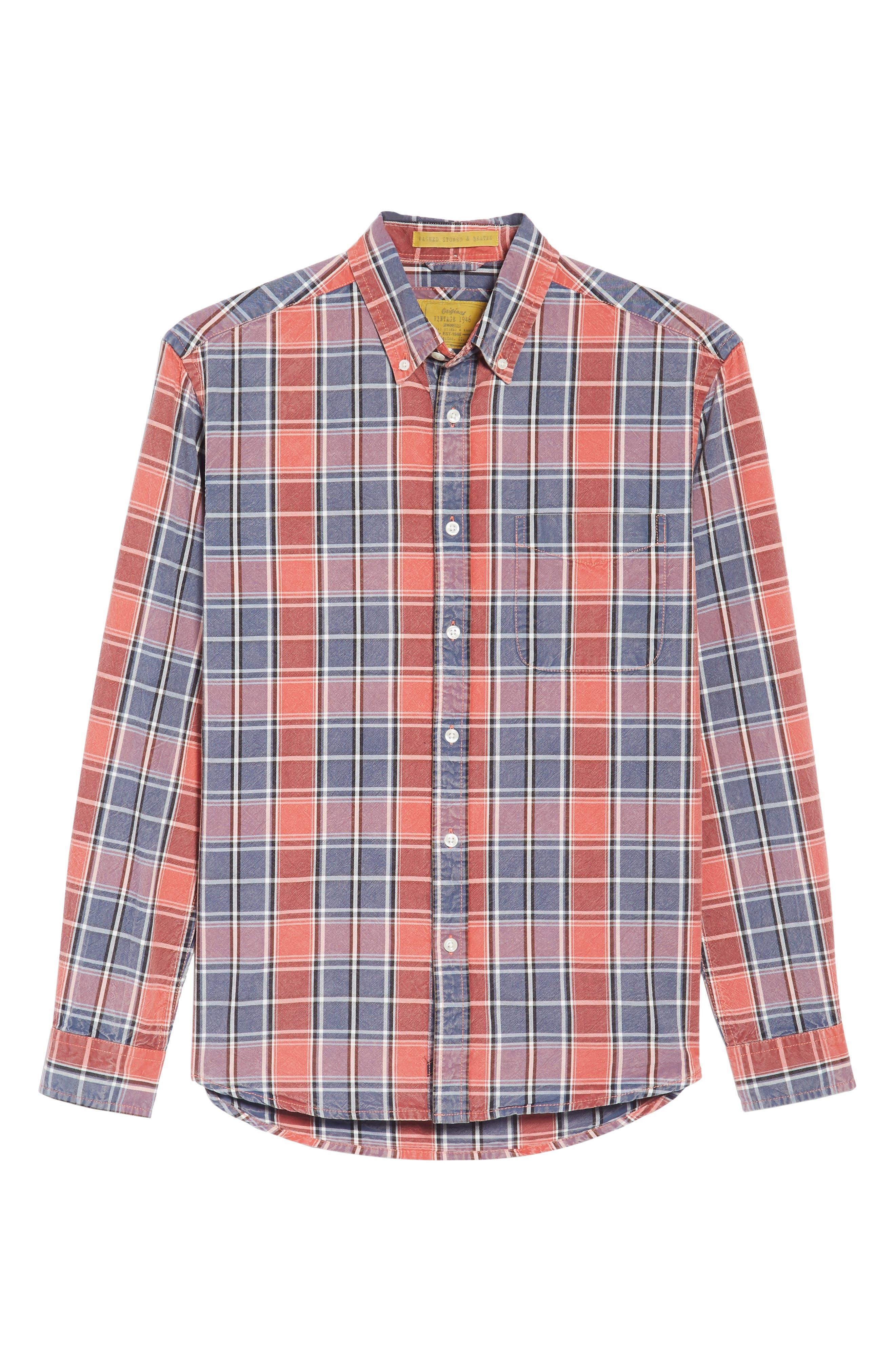 Alternate Image 6  - Vintage 1946 Regular Fit Oxford Sport Shirt