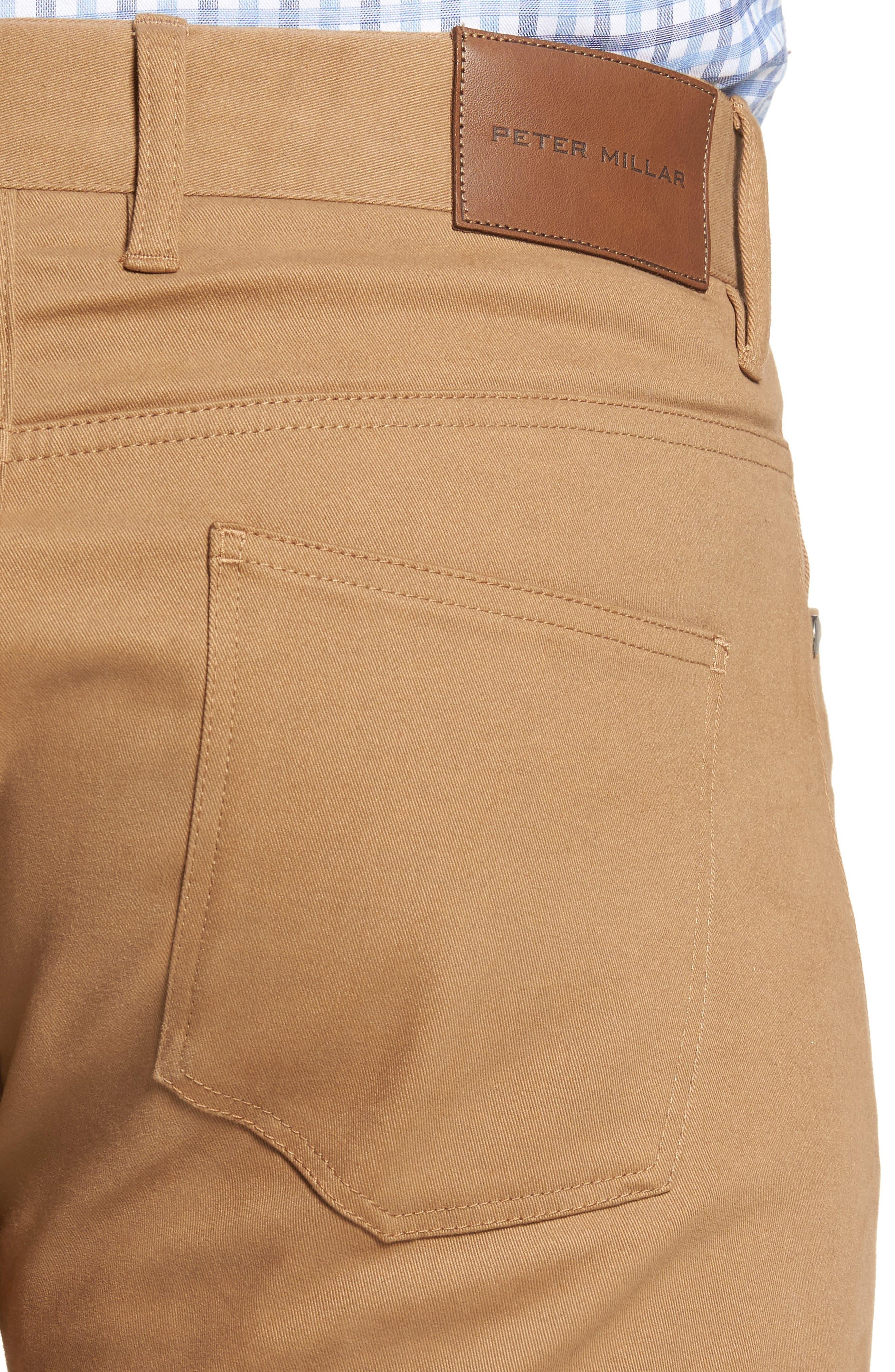 Alternate Image 4  - Peter Millar Perfect Twill 5-Pocket Pants