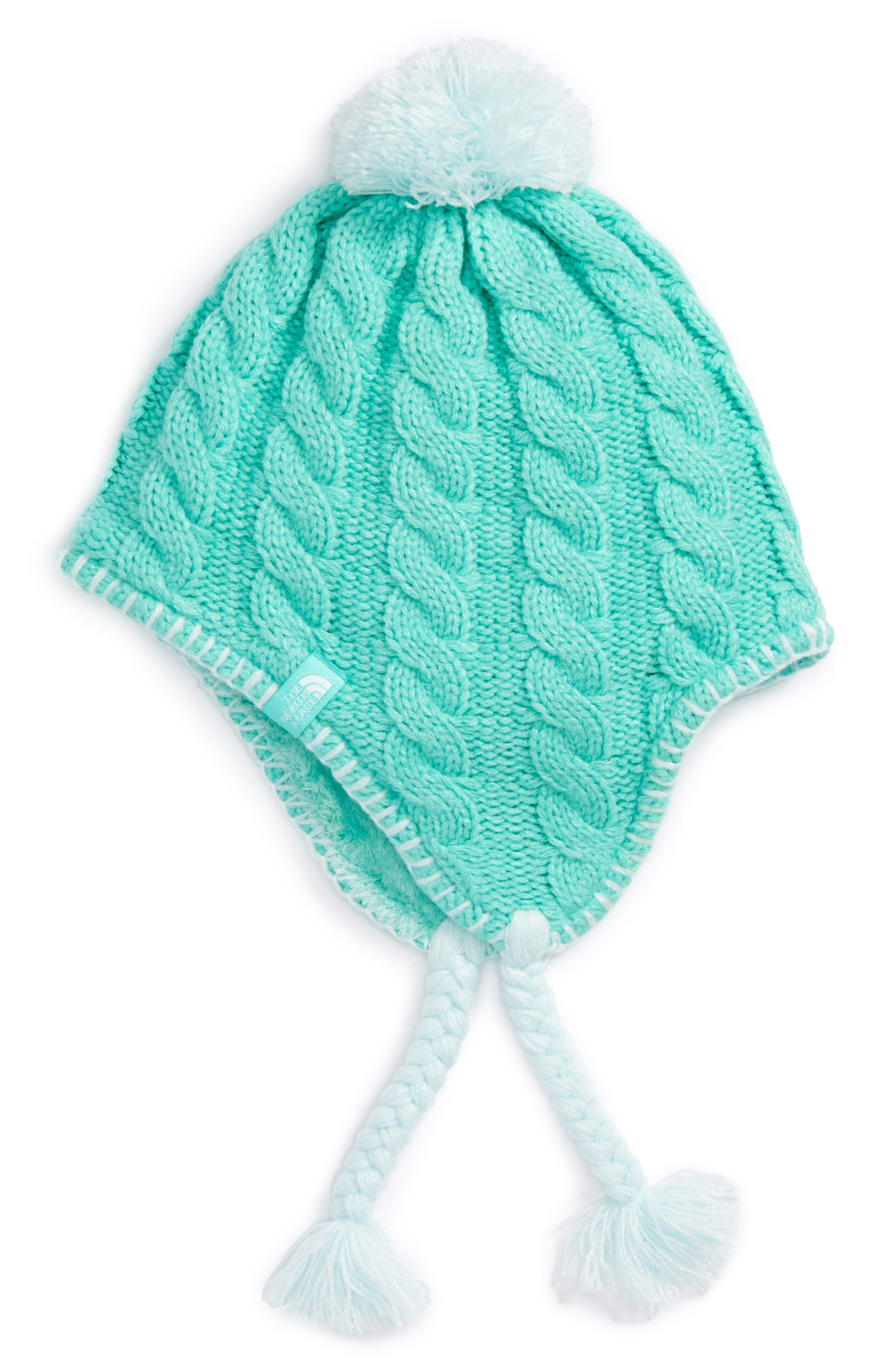 The North Face Fuzzy Earflap Beanie (Girls)