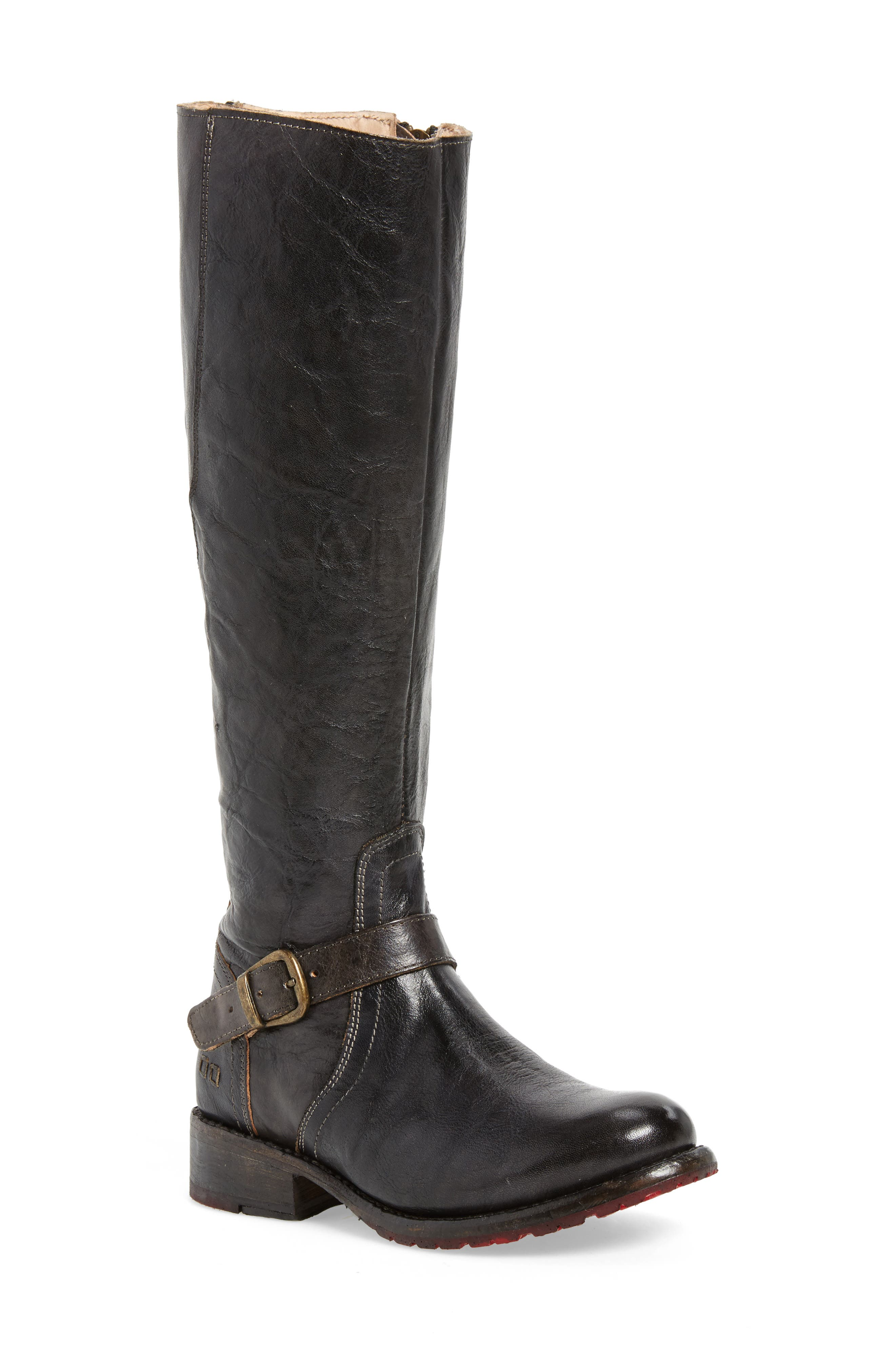 'Glaye' Tall Boot,                         Main,                         color, Graphito Rustic