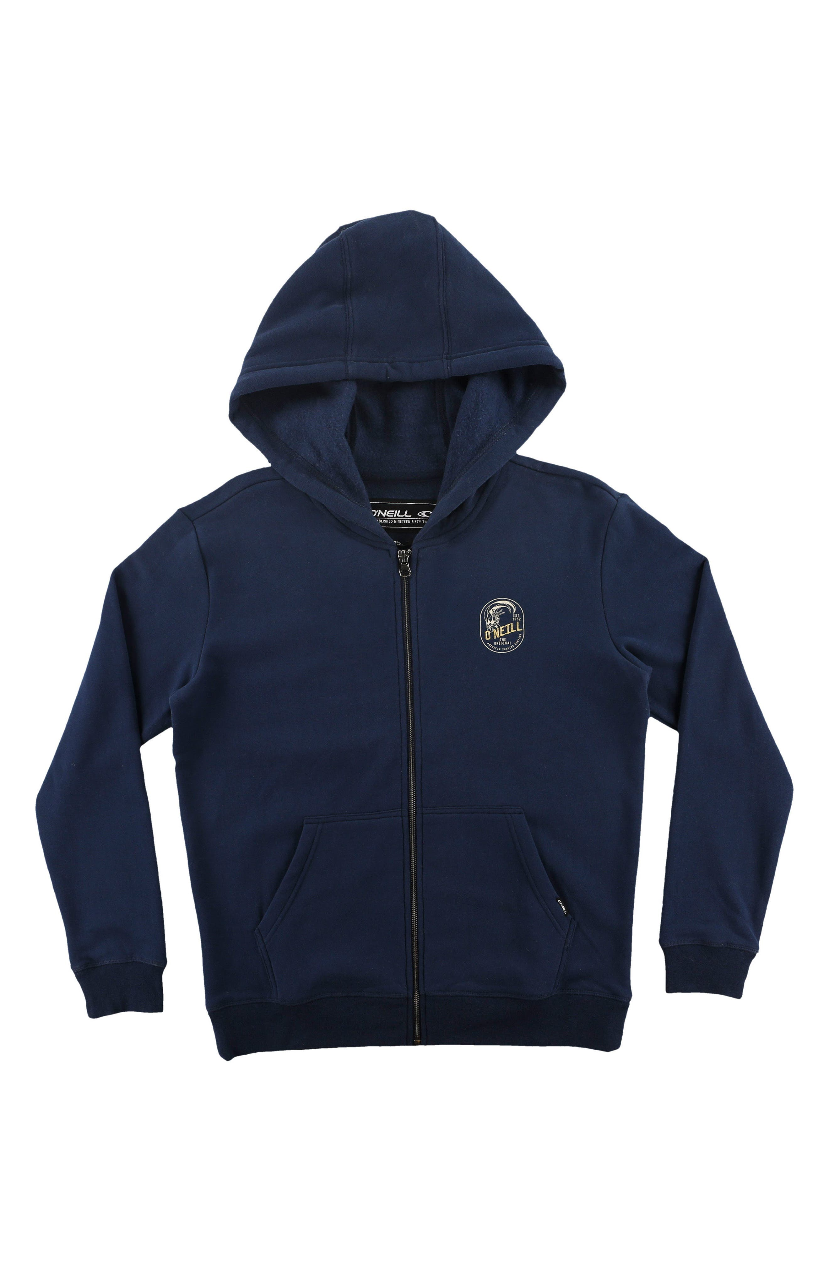 O'Neill Floyd Vintage Graphic Zip Hoodie (Little Boys)