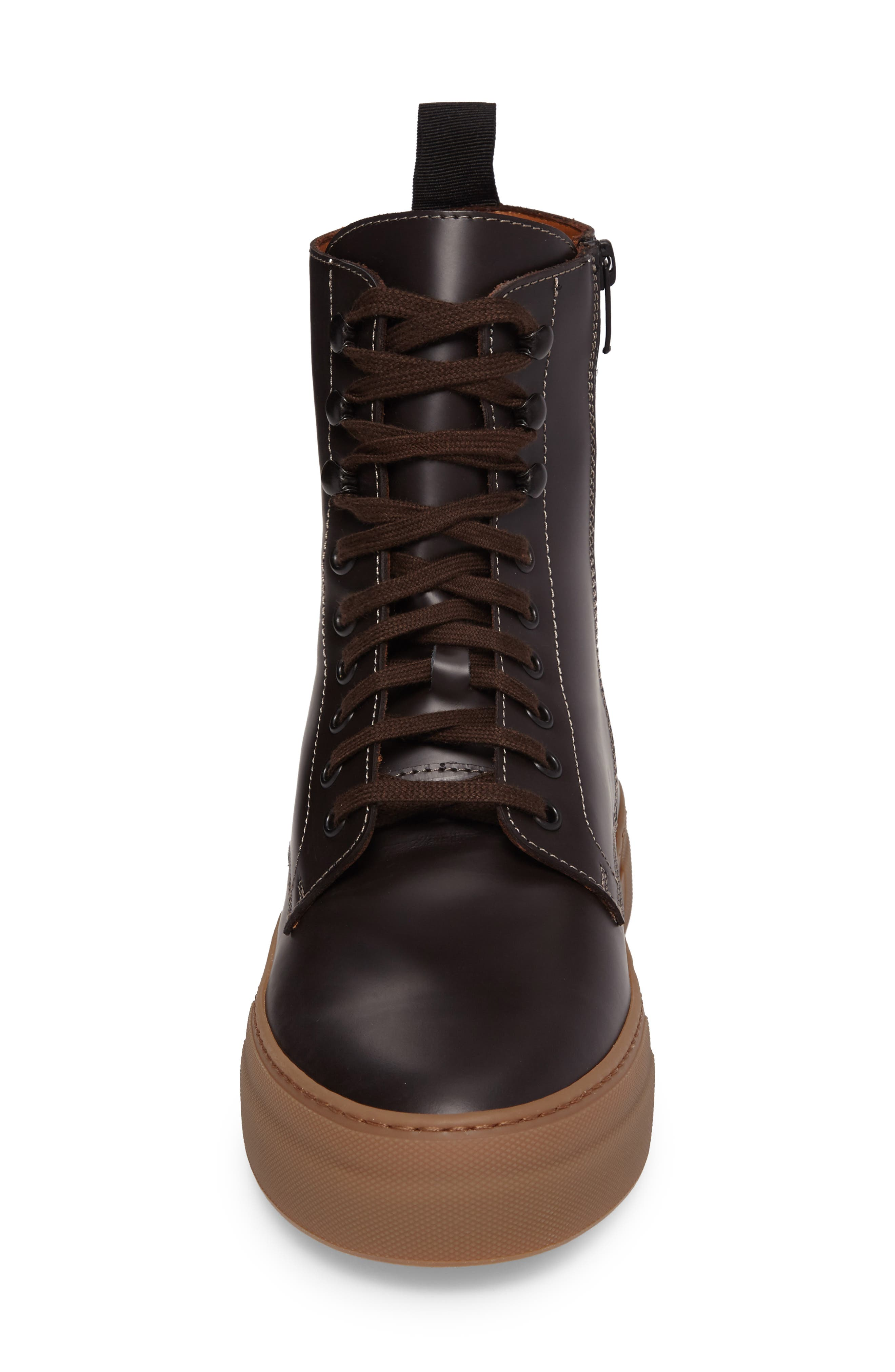 Alternate Image 4  - Common Projects x Robert Geller Plain Toe Boot (Men)